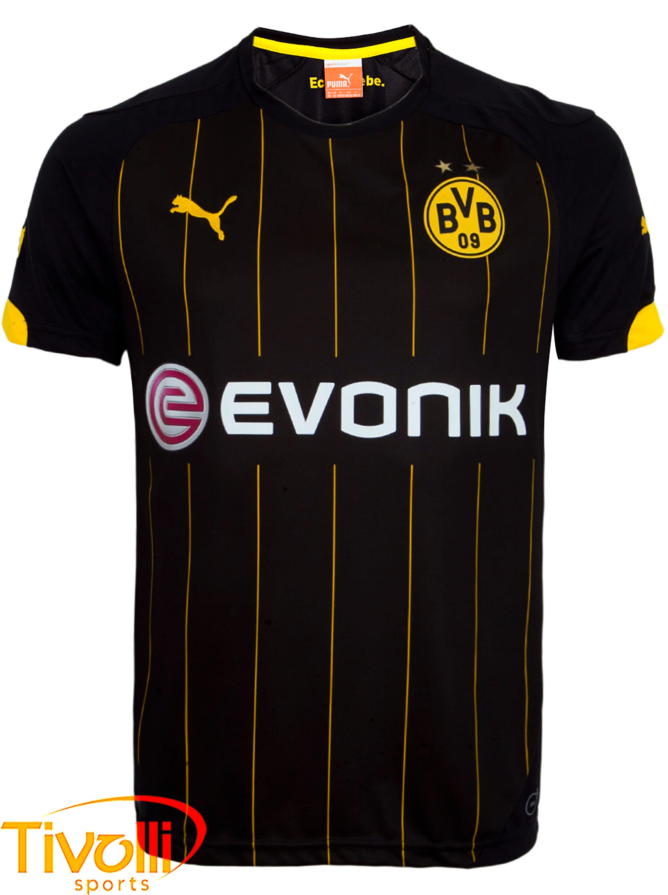 Camiseta Borussia Dortmund II Puma 2015   - Mega Saldão   991400ebc8c57