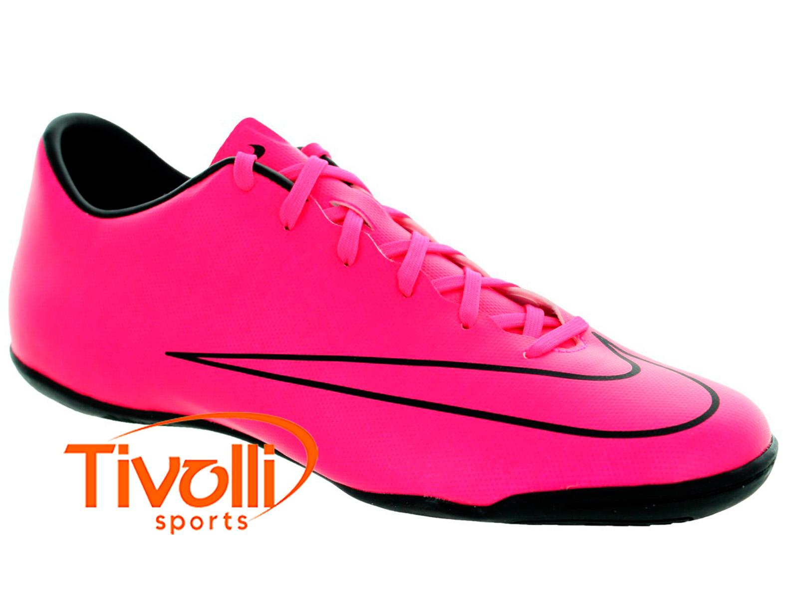 6dcabc00978cb Black Friday - Chuteira Nike Indoor Mercurial Victory V IC Futsal rosa e  preto