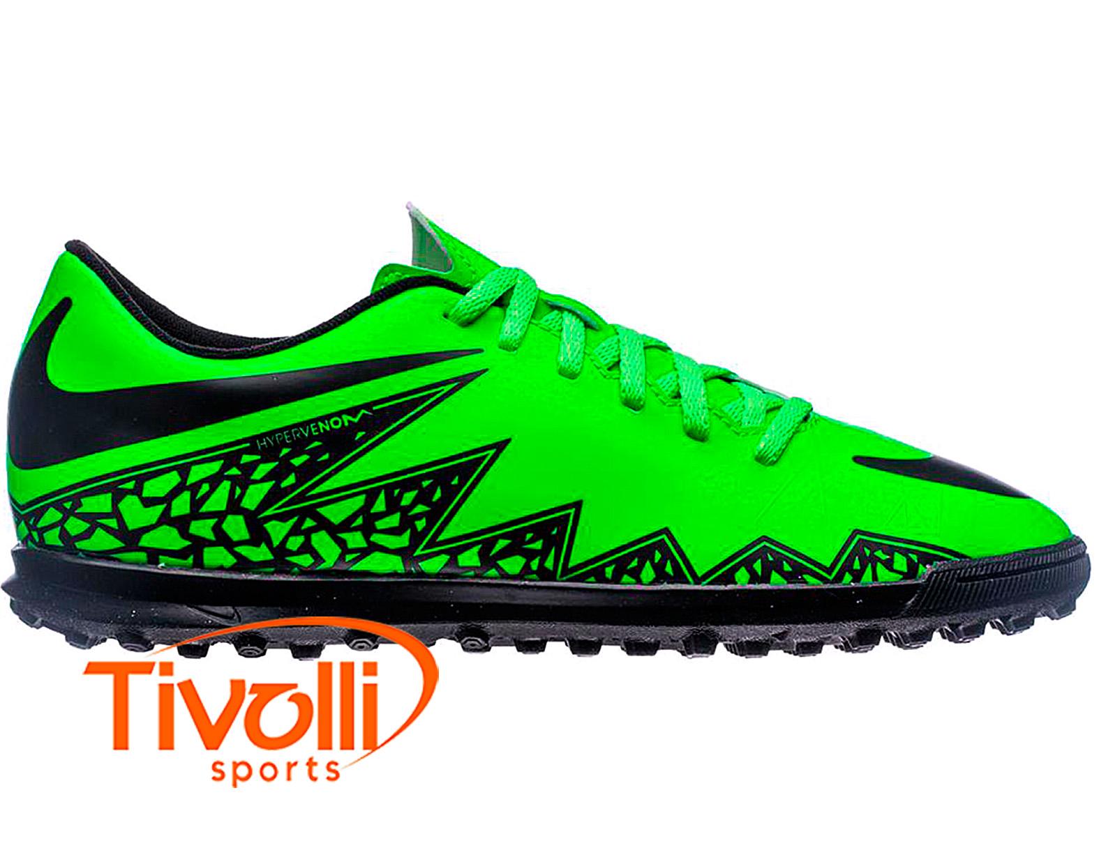 Chuteira Nike Hypervenom Phade II TF Society   - Mega Saldão de Natal   4ede19b2ad962