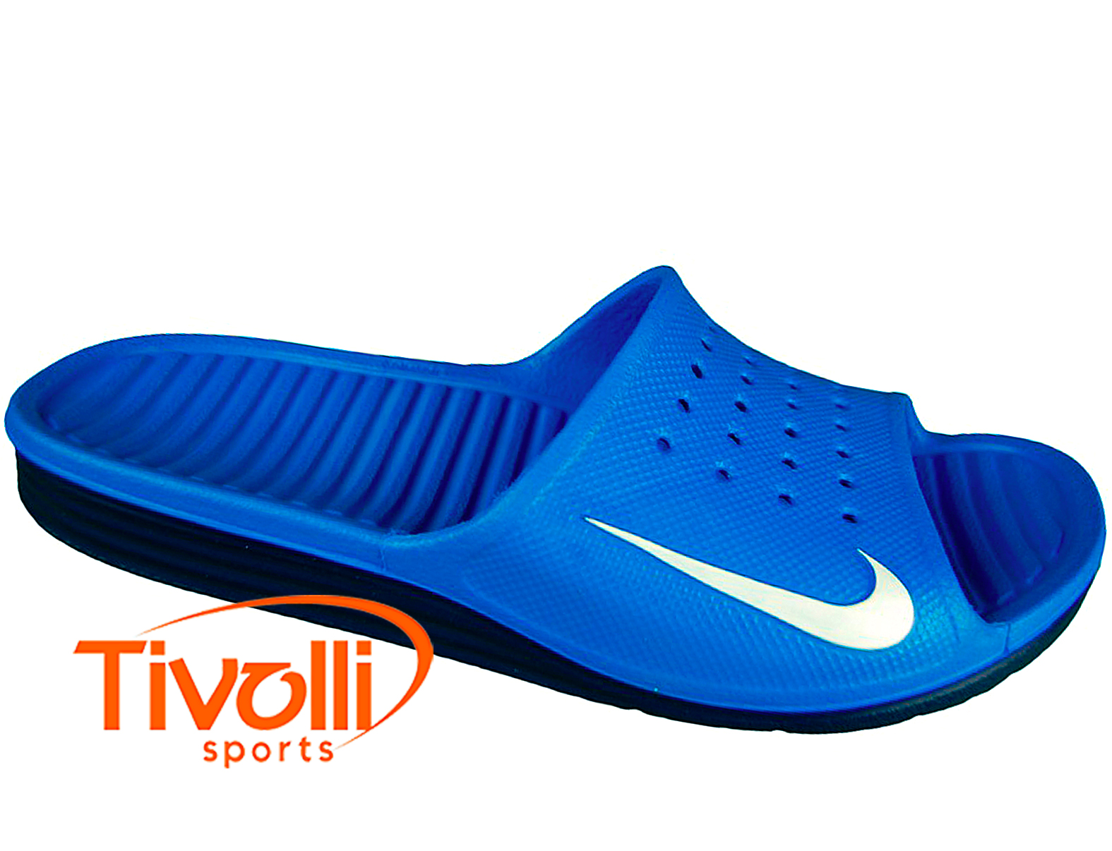 0b4bd33088 Chinelo Nike Solarsoft Slide   Azul royal e preto