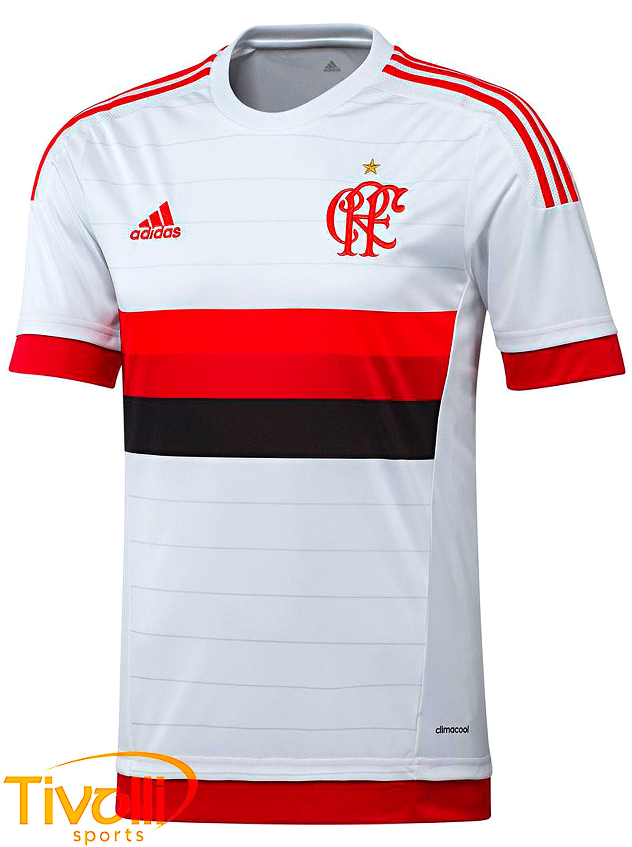 f4ede1a51c895 Camisa Flamengo II Adidas   Branca