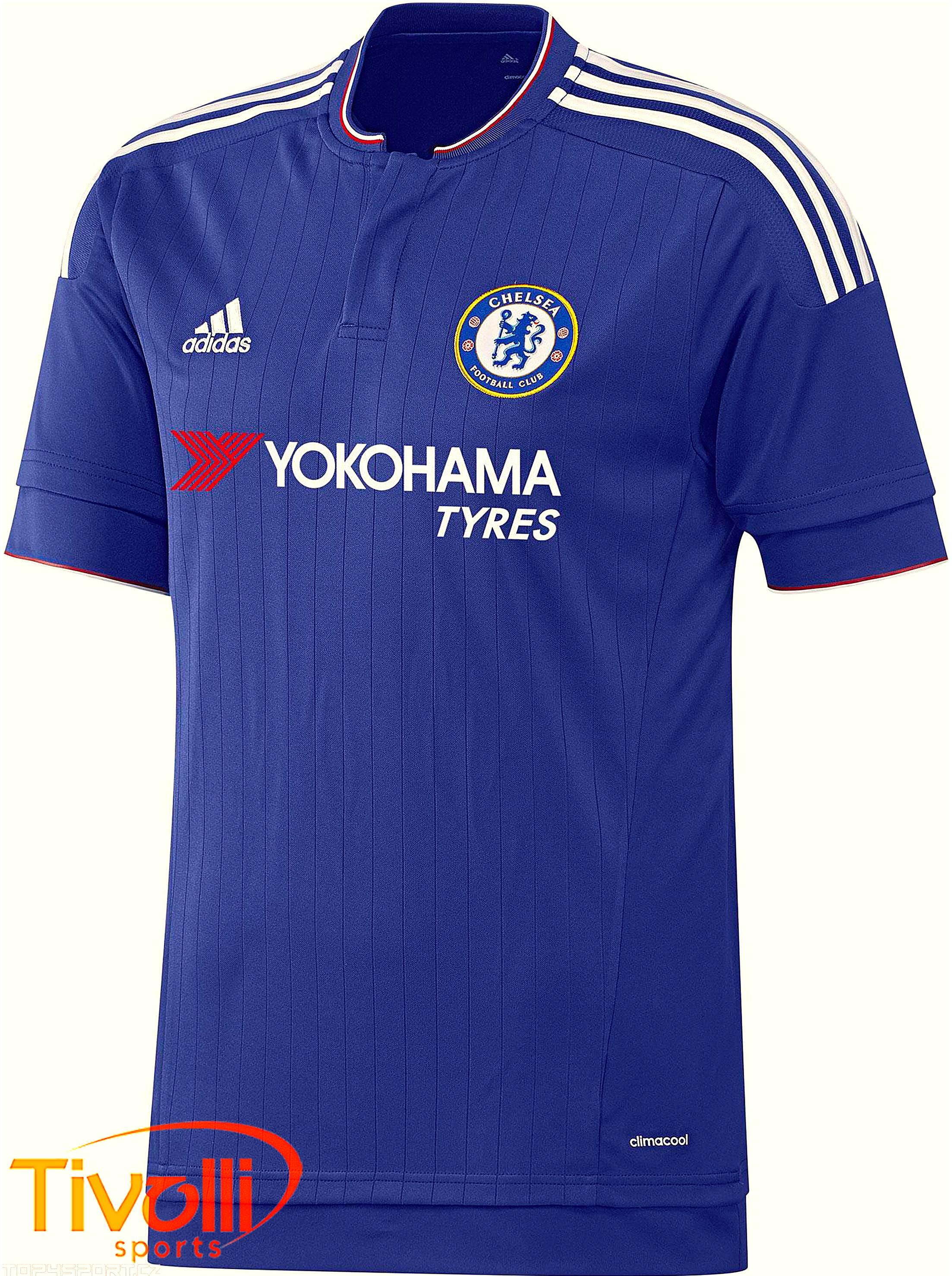 Camisa Chelsea I Adidas   - Mega Saldão   a8cba33d17d6e