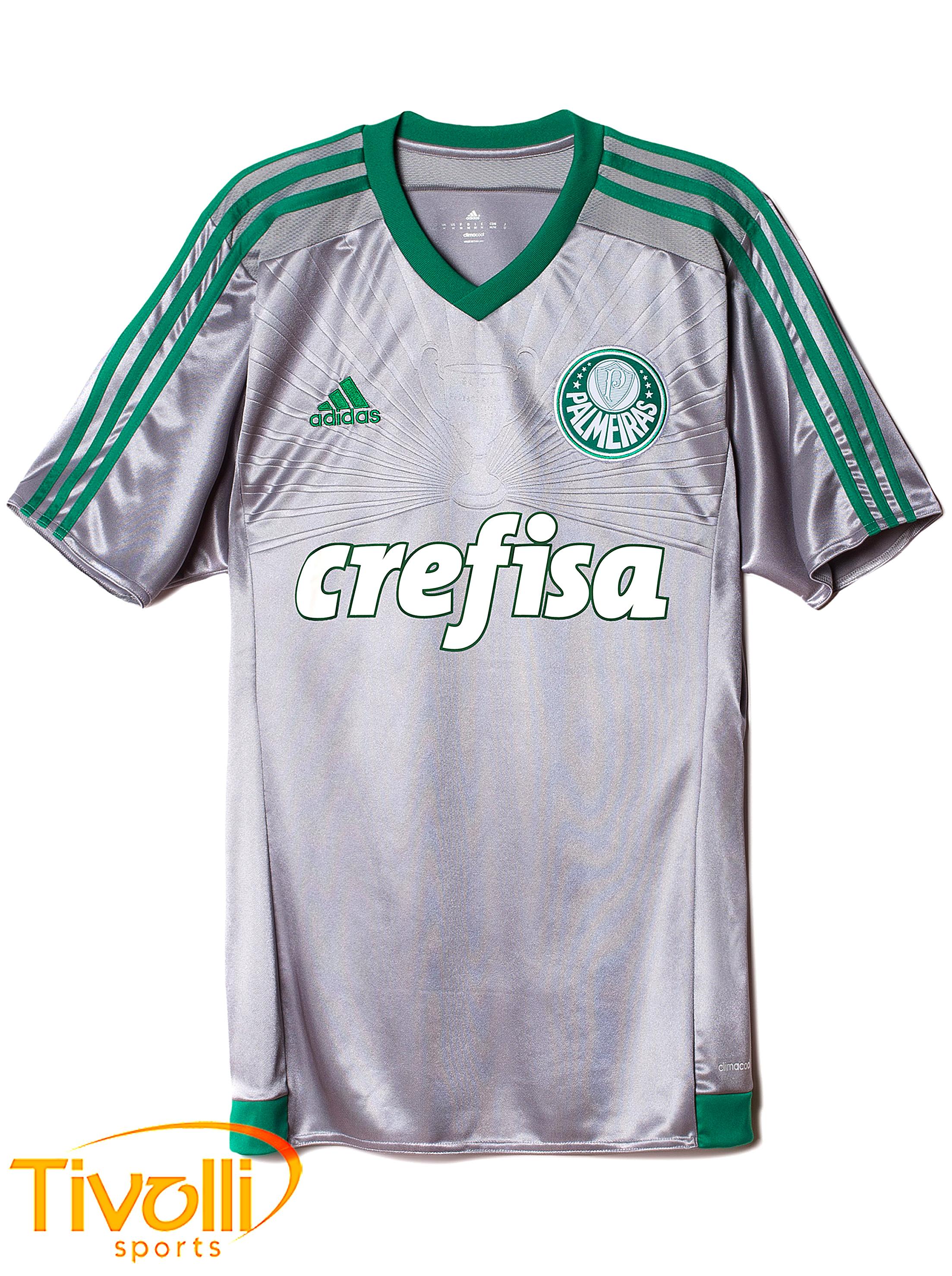 Black Friday - Camisa Infantil Palmeiras III Adidas   Prata e verde   1c24da09cc642