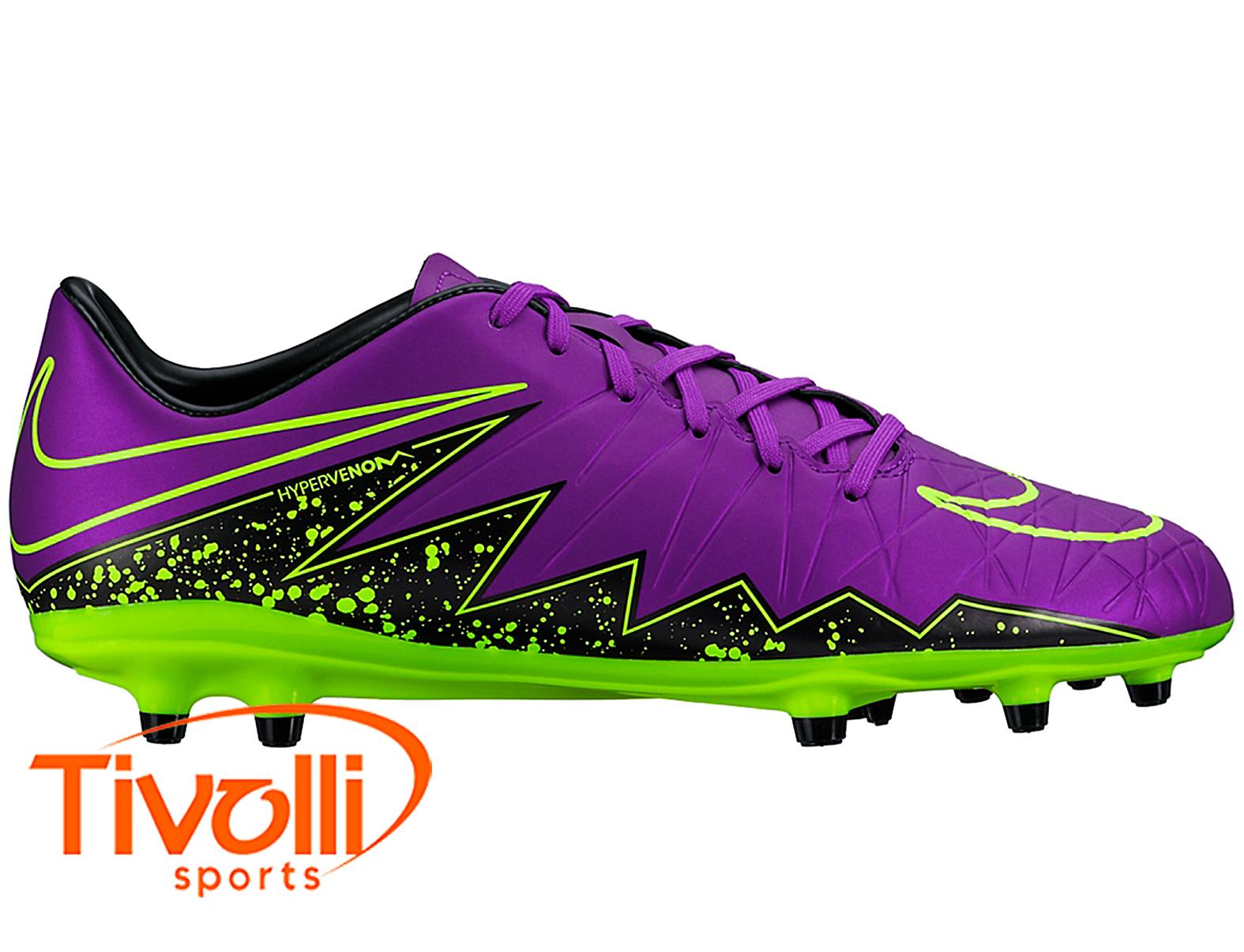 8da2f1ddb7 Chuteira Nike Hypervenom Phelon II FG Campo   - Mega Saldão