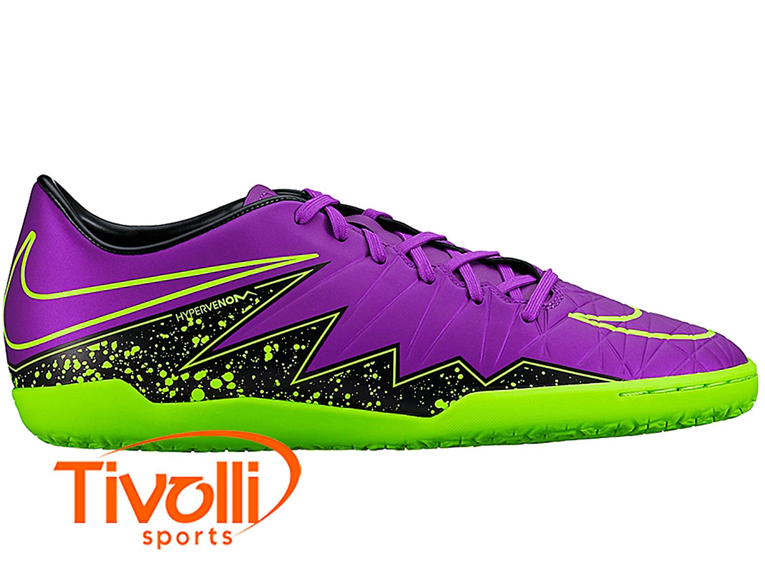 Chuteira Nike JR Hypervenom Phelon II IC Futsal Infantil - Mega Saldão 06b48ad6a98e8