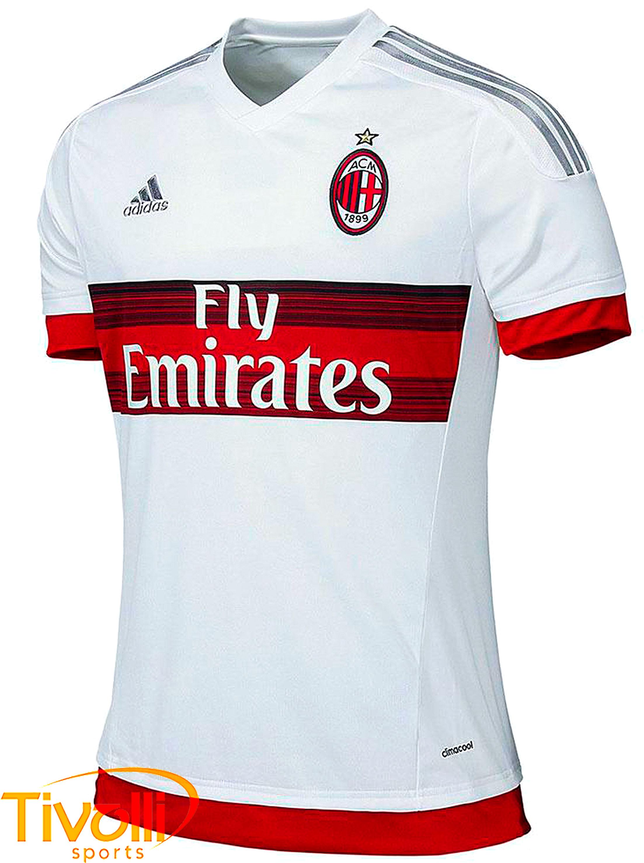 Camisa Milan II 2015 2016 Adidas   - Mega Saldão   375255050af1d