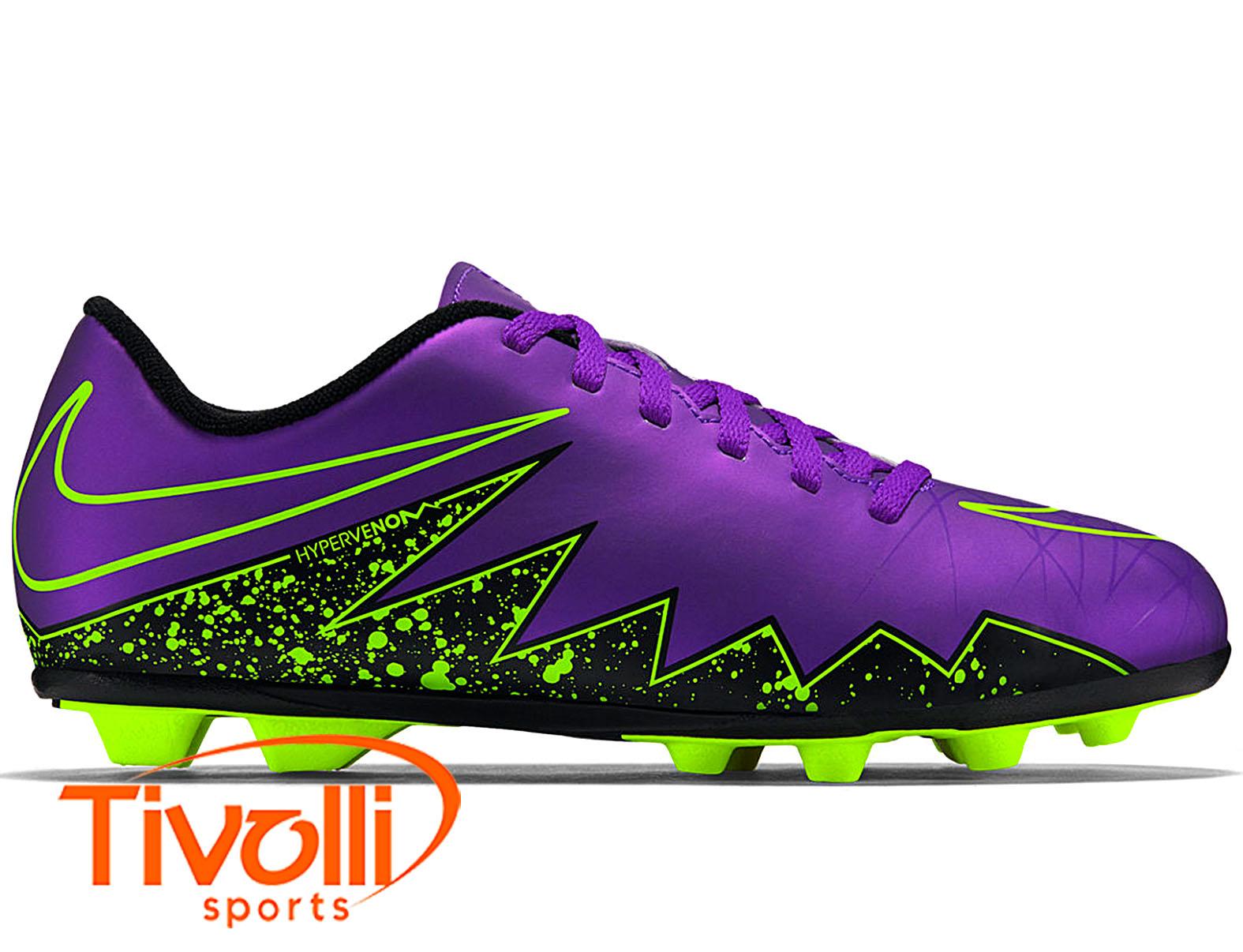 77ad7b3c9b Chuteira campo Nike JR Hypervenom Phelon II FG