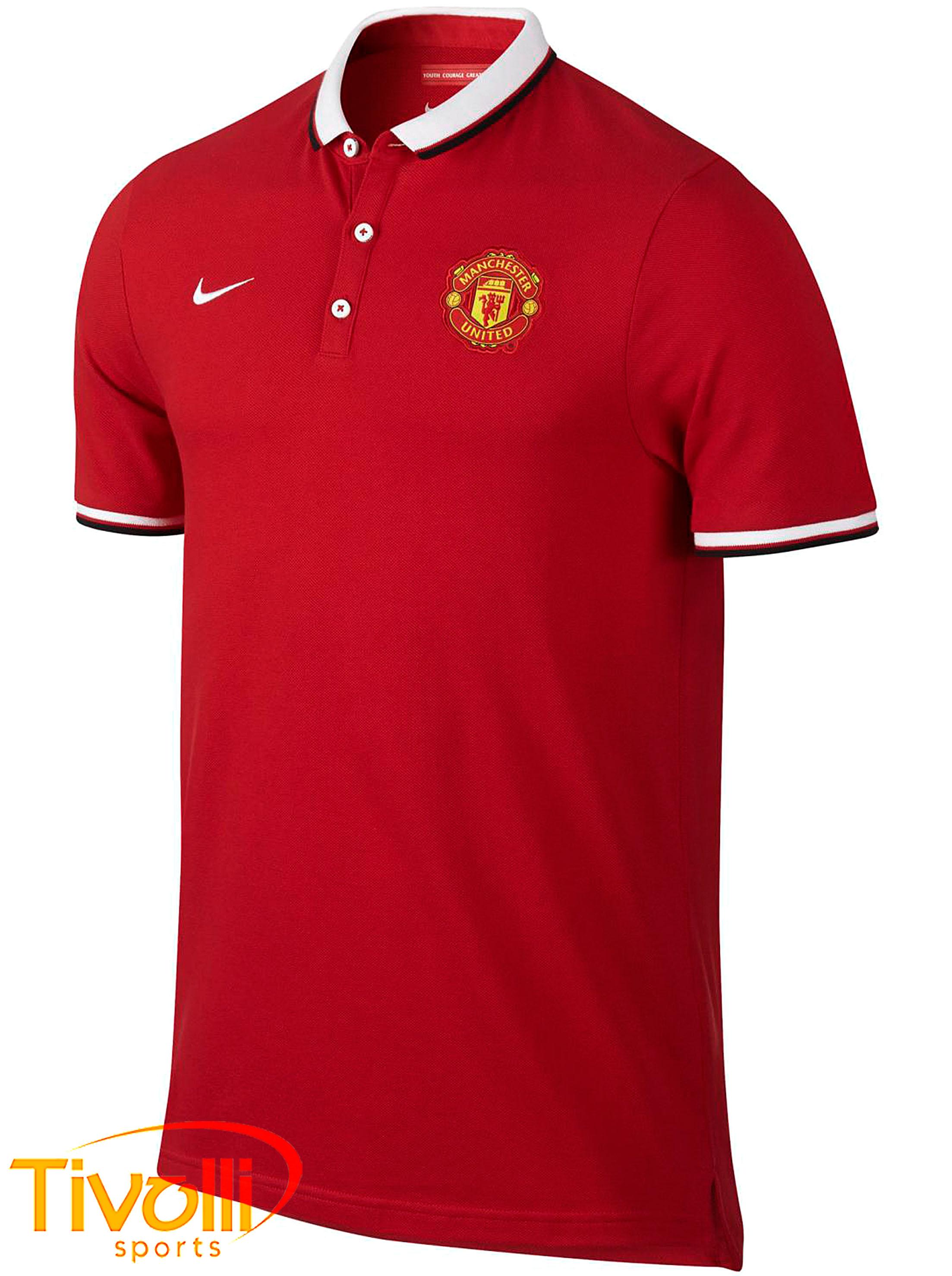 Camisa polo Manchester United Nike   - Mega Saldão   b179d0e3b0125