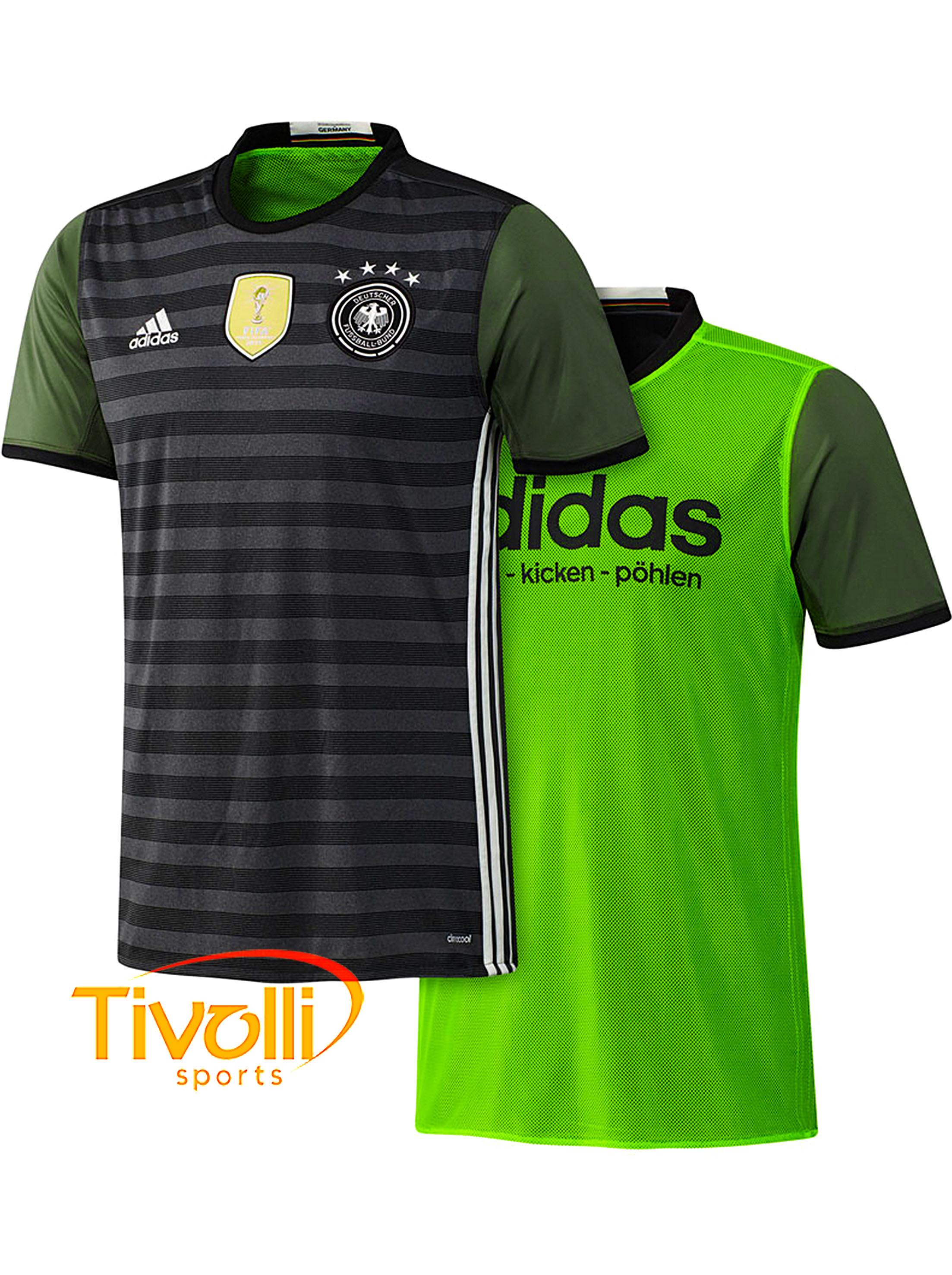 d451bd92b8 Camisa Alemanha II Dupla Face Adidas Euro 2016   - Mega Saldão