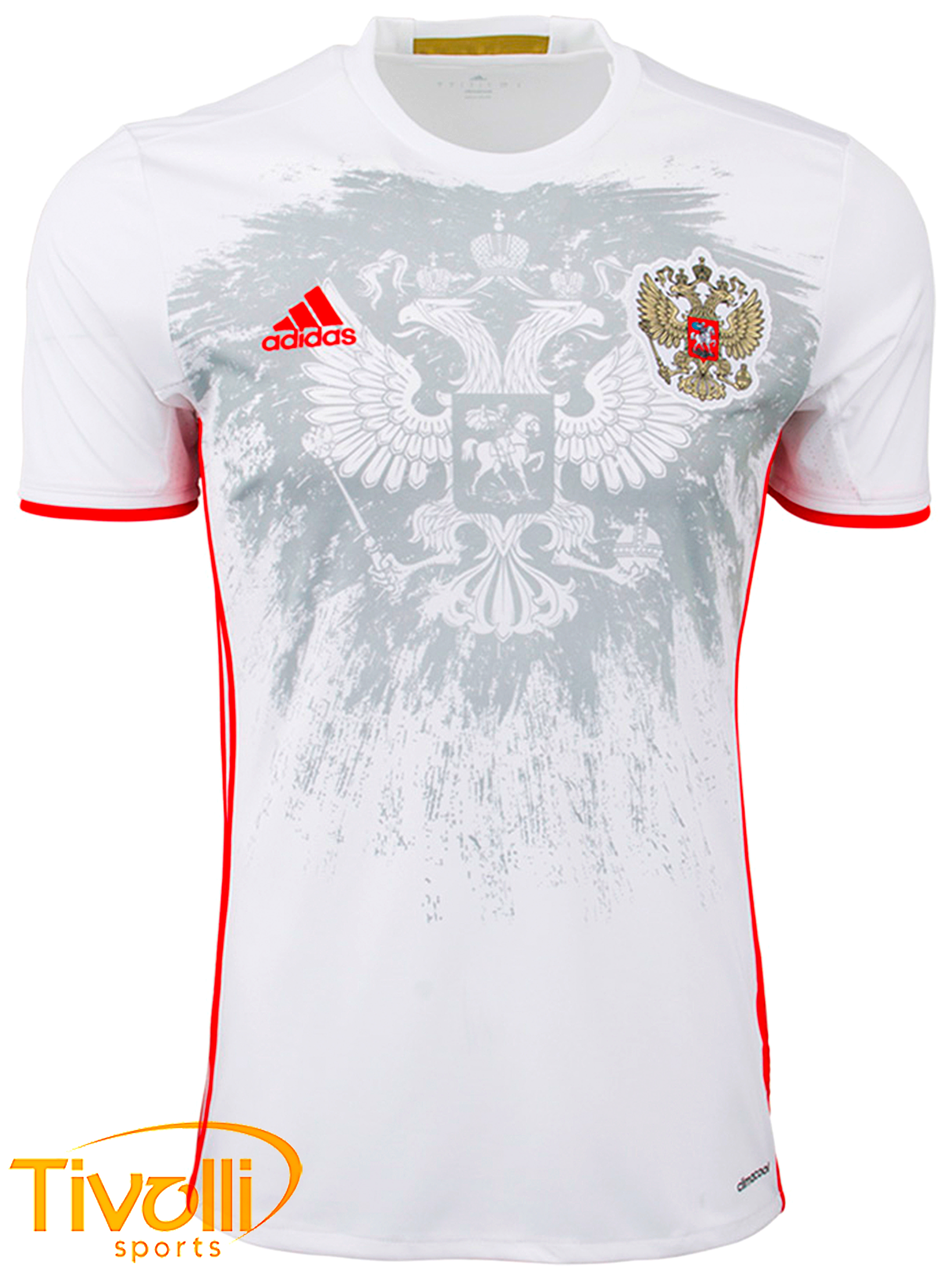 ee6897e8df Camisa Russia II Adidas 2016   - Mega Saldão