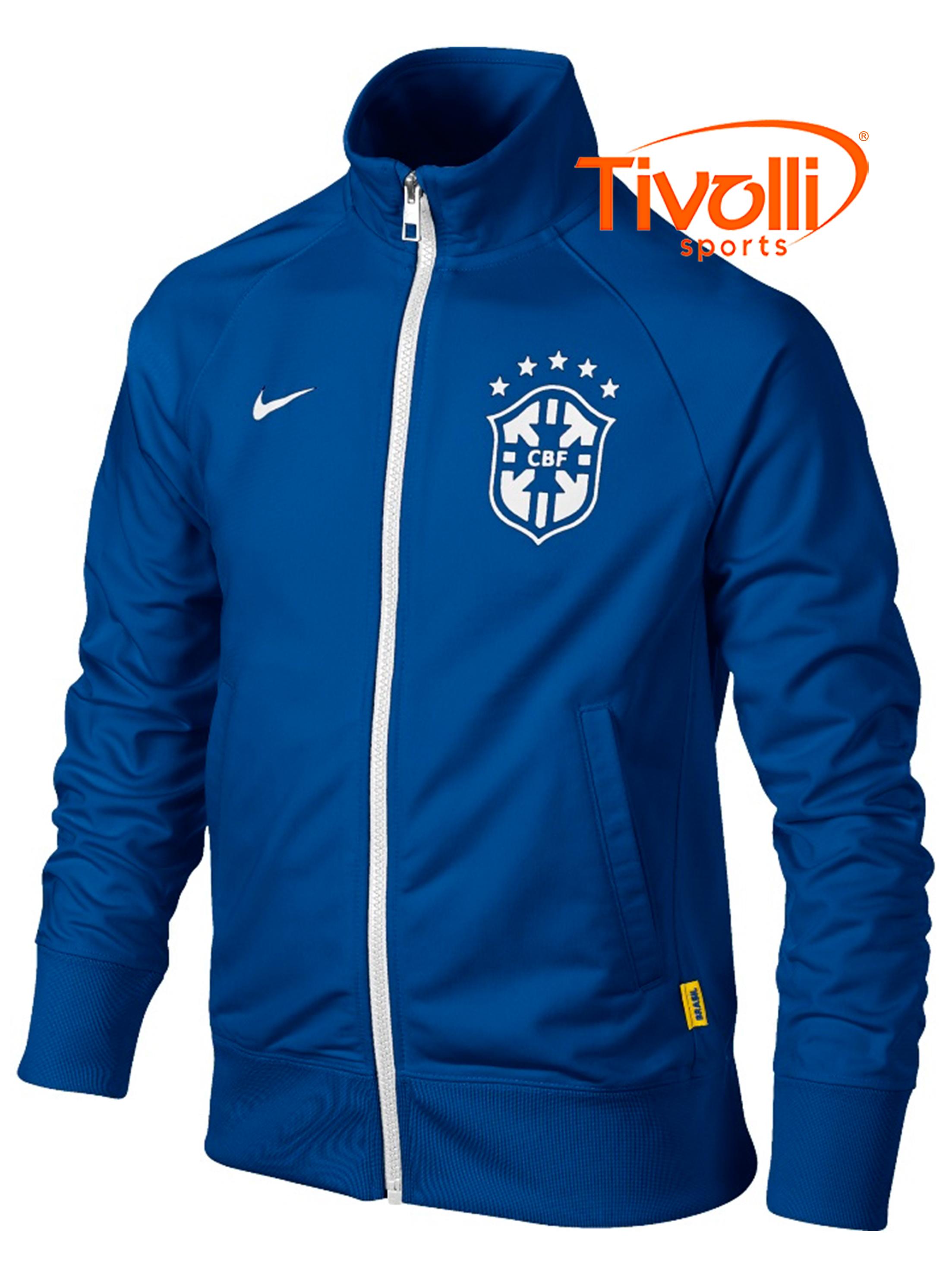 326eb771b97c8 Jaqueta Nike CBF Core Trainer Seleção Brasileira   - Mega Saldão