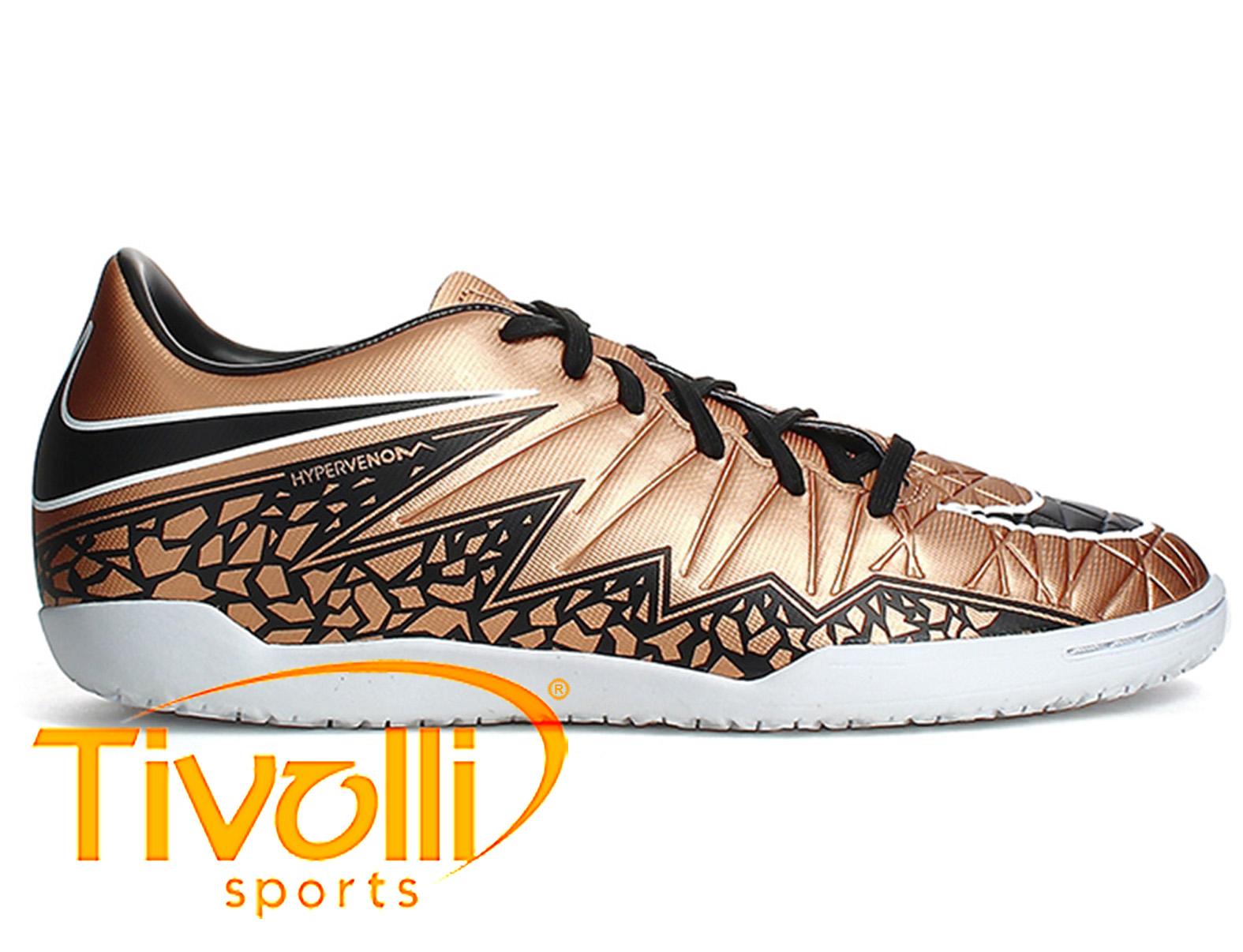 Black Friday - Chuteira Nike JR Hypervenom Phelon II IC futsal bronze 0f24bcdceca36