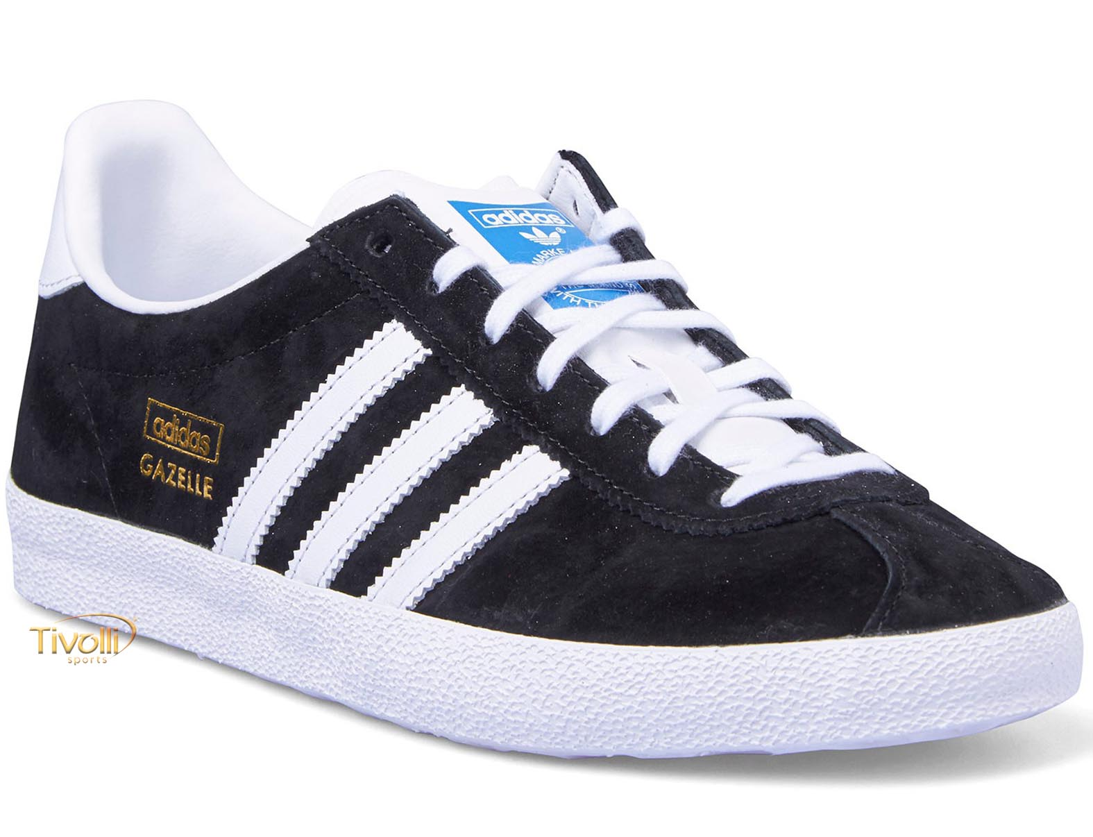 ... Tênis Adidas Originals Gazelle OG preto e branco first look f49f4 975d3  ... 0cfc7082c049a