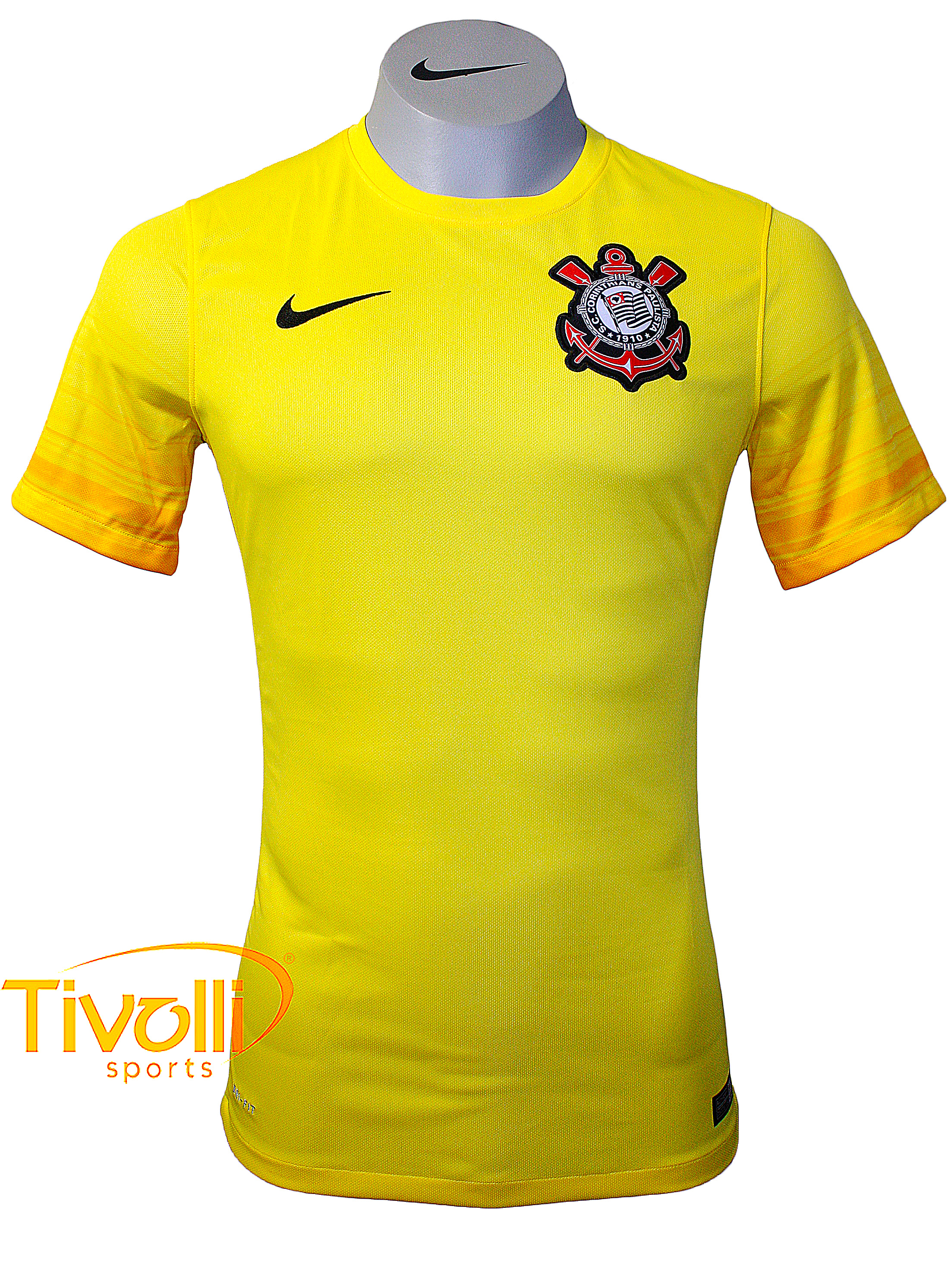 Black Friday - Camisa Corinthians goleiro Nike   adulto amarela   fd81868e20e