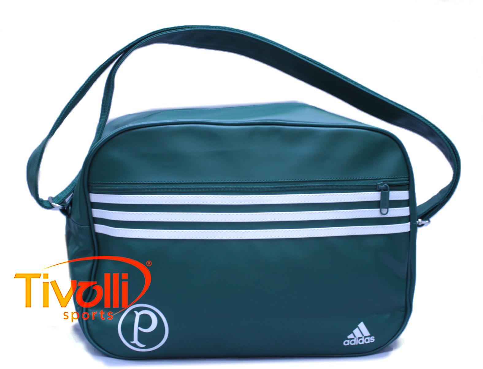 Bolsa média Palmeiras Palestra Italia MSG   verde e branca   04d807c7ffc0e