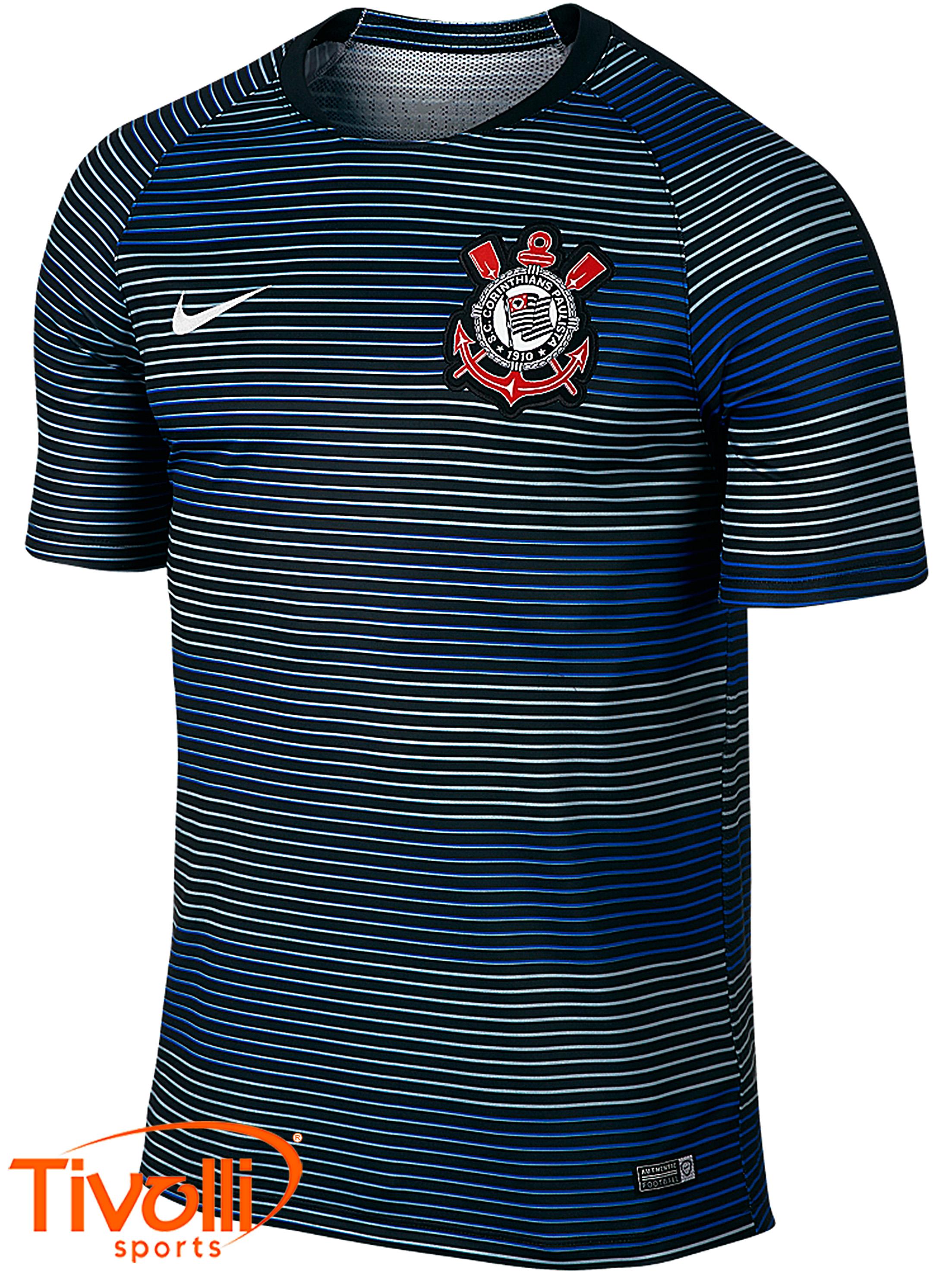 Camisa Corinthians Flash SCCP Nike   listrada cinza 0909148306e83