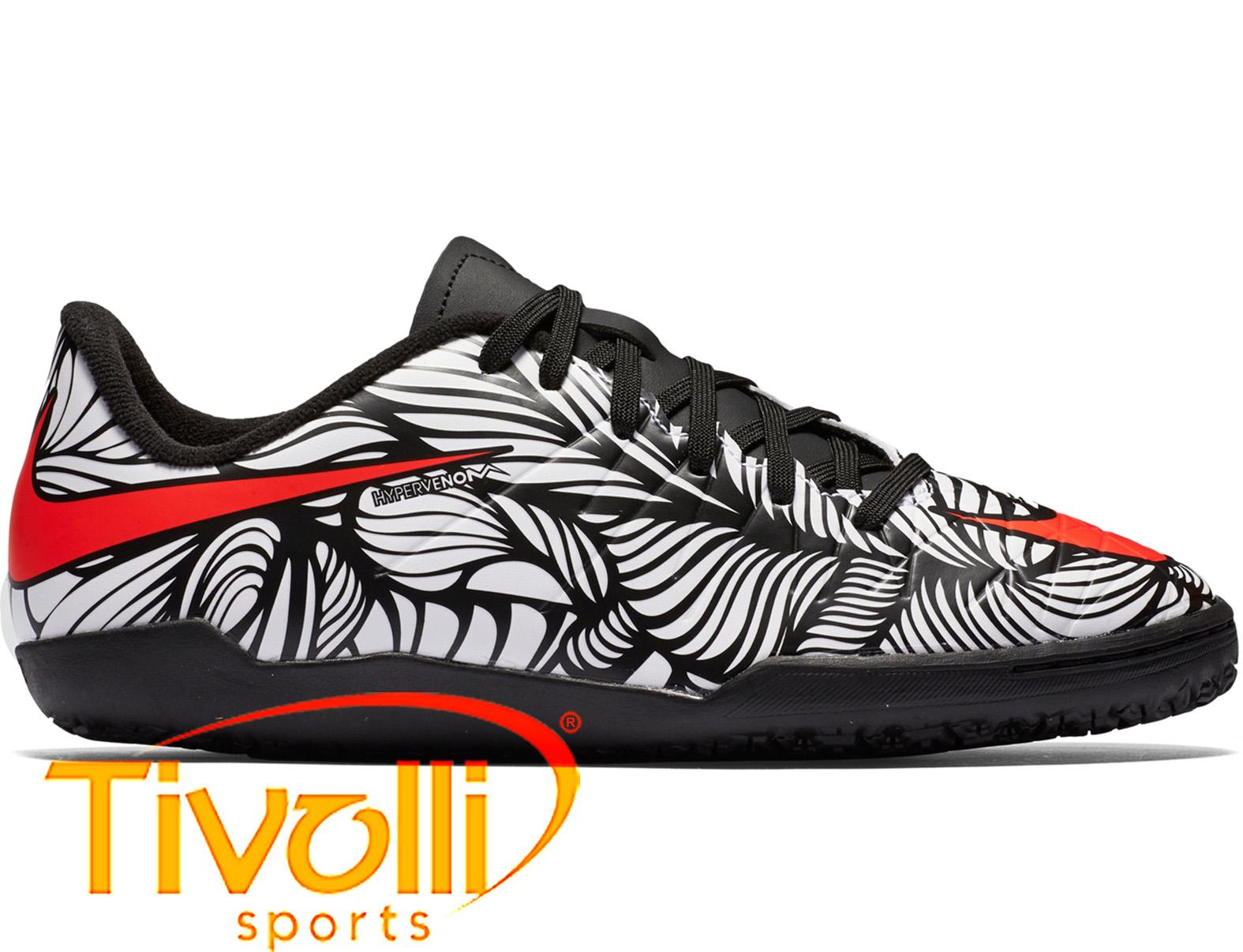 728de1ef8b Black Friday - Chuteira Nike Hypervenom Phade II IC infantil futsal Neymar  branca