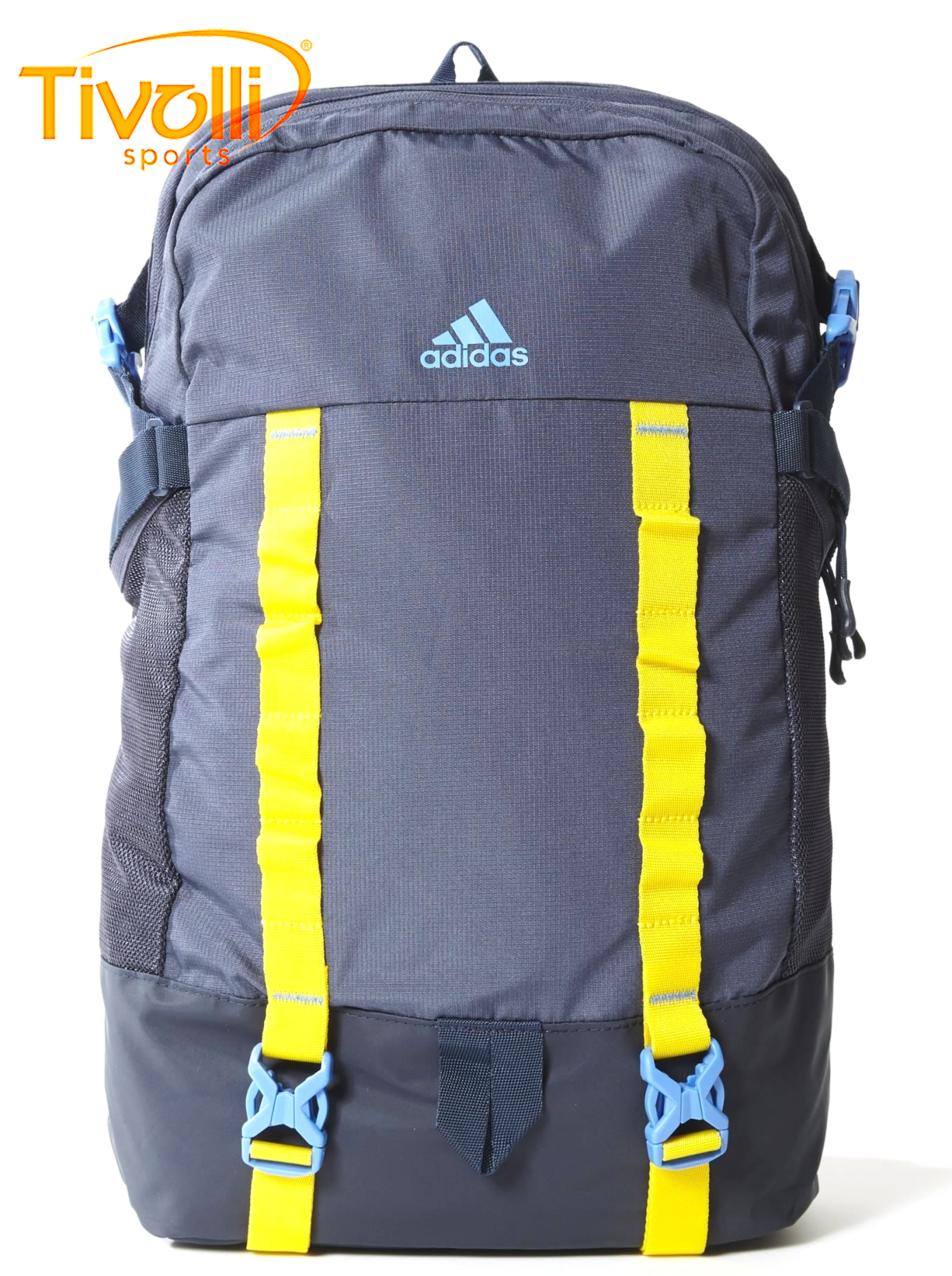 2911fe787 Mochila Adidas All Outdoor Backpack > azul e amarela >