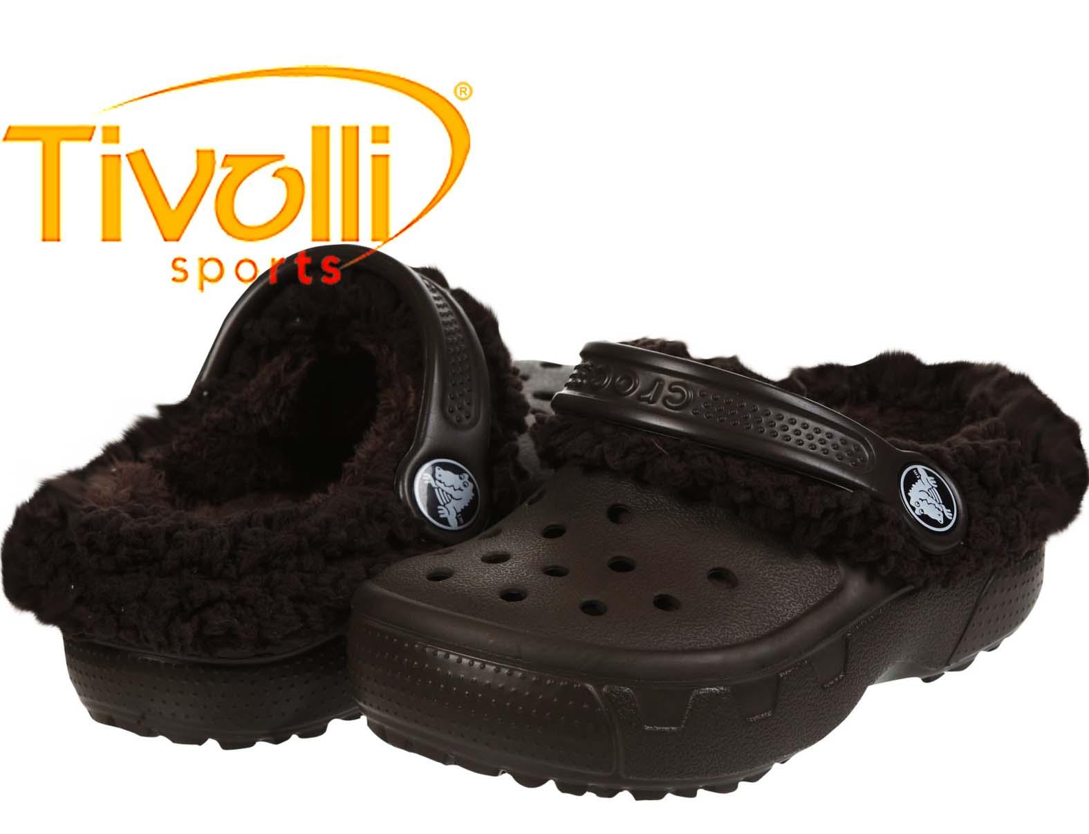 af2394f1b0228 Crocs Mammoth EVO Clog Infantil   Marrom Espresso