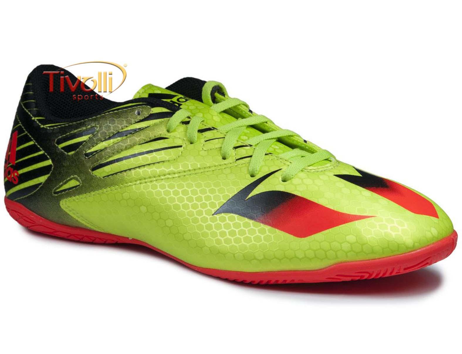 7b8d25946c5db Chuteira Adidas Messi 15.4 futsal   - Mega Saldão