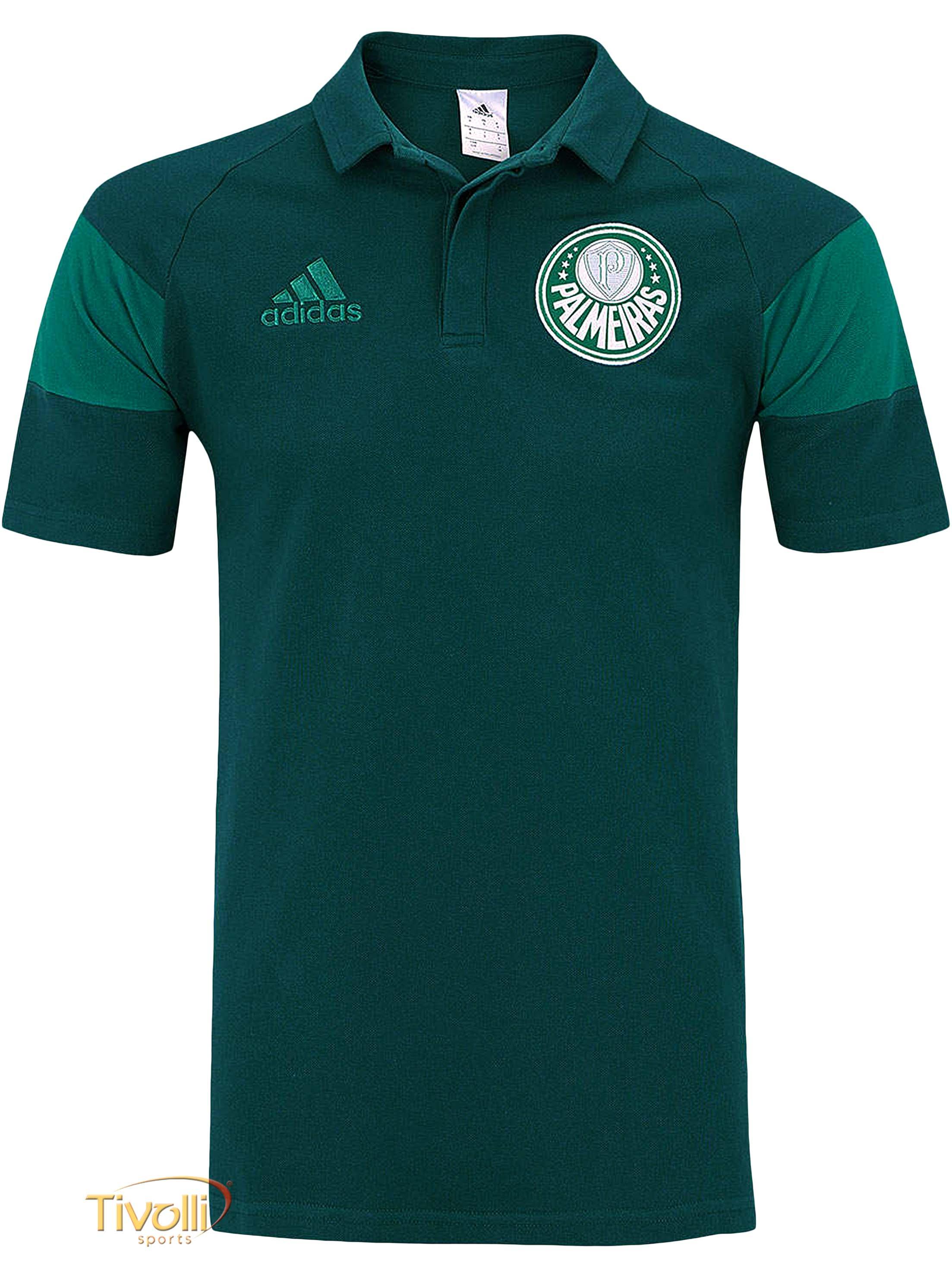 272e3d7c74 Camisa Polo Palmeiras Adidas   verde