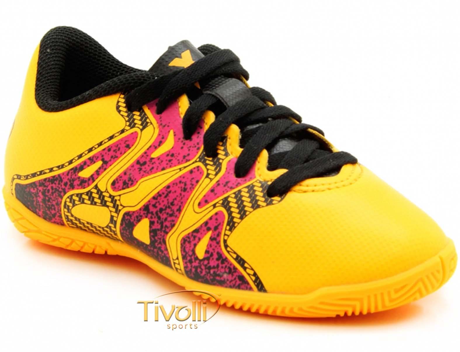 Chuteira Adidas X 15.4 Futsal Infantil     6a6d6b0d754e9