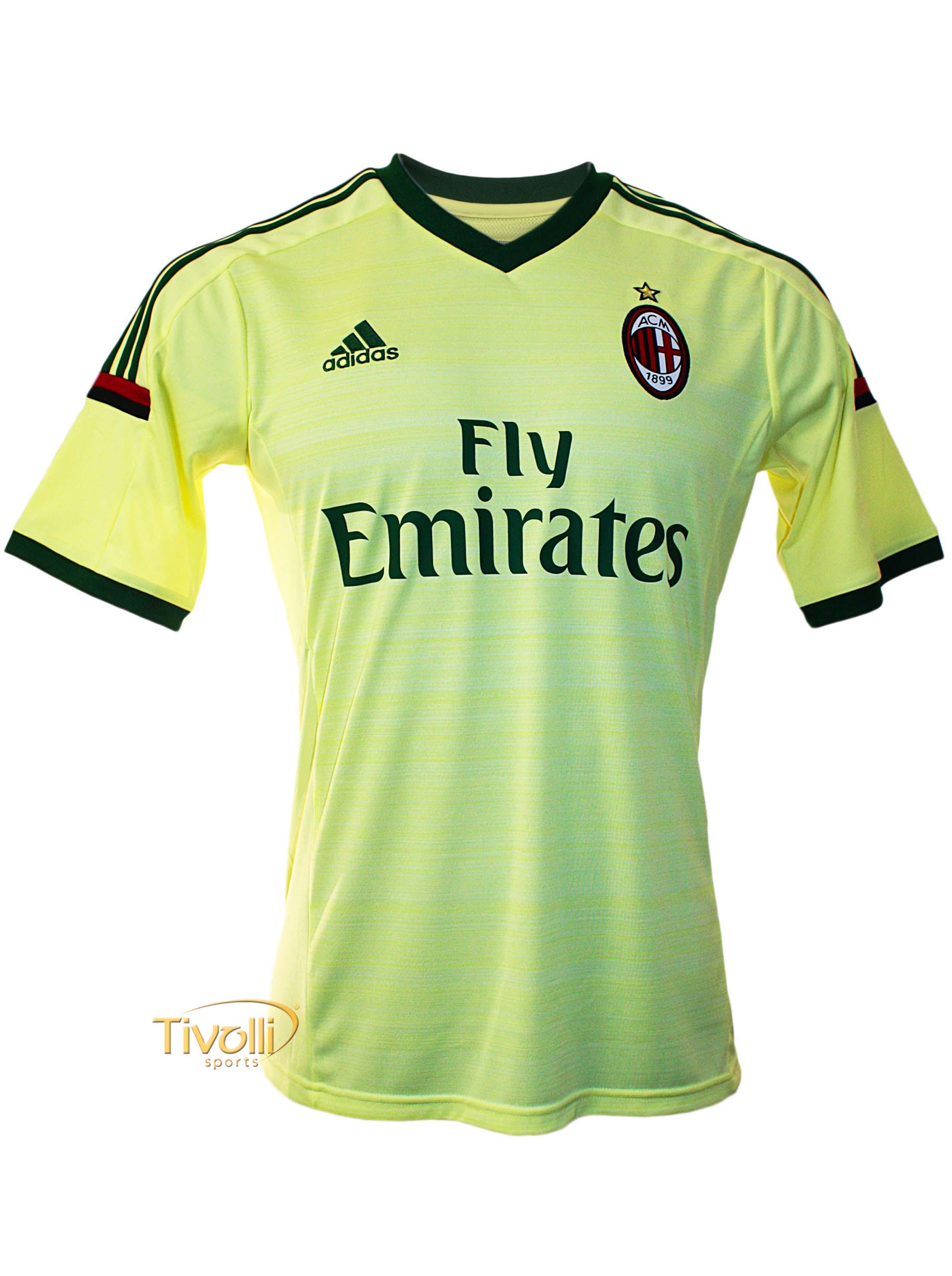 Camisa Milan III 2013 2014 Adidas. - Mega Saldão f123425b6a700