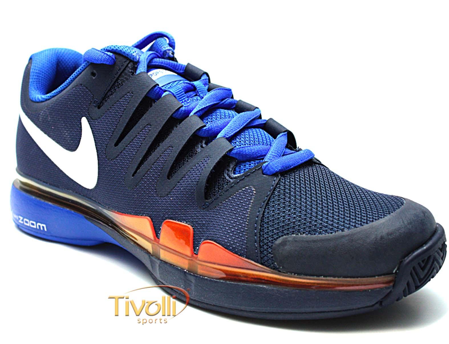 8c733338bbe75 Tênis Nike Zoom Vapor 9.5 Tour   azul marinho