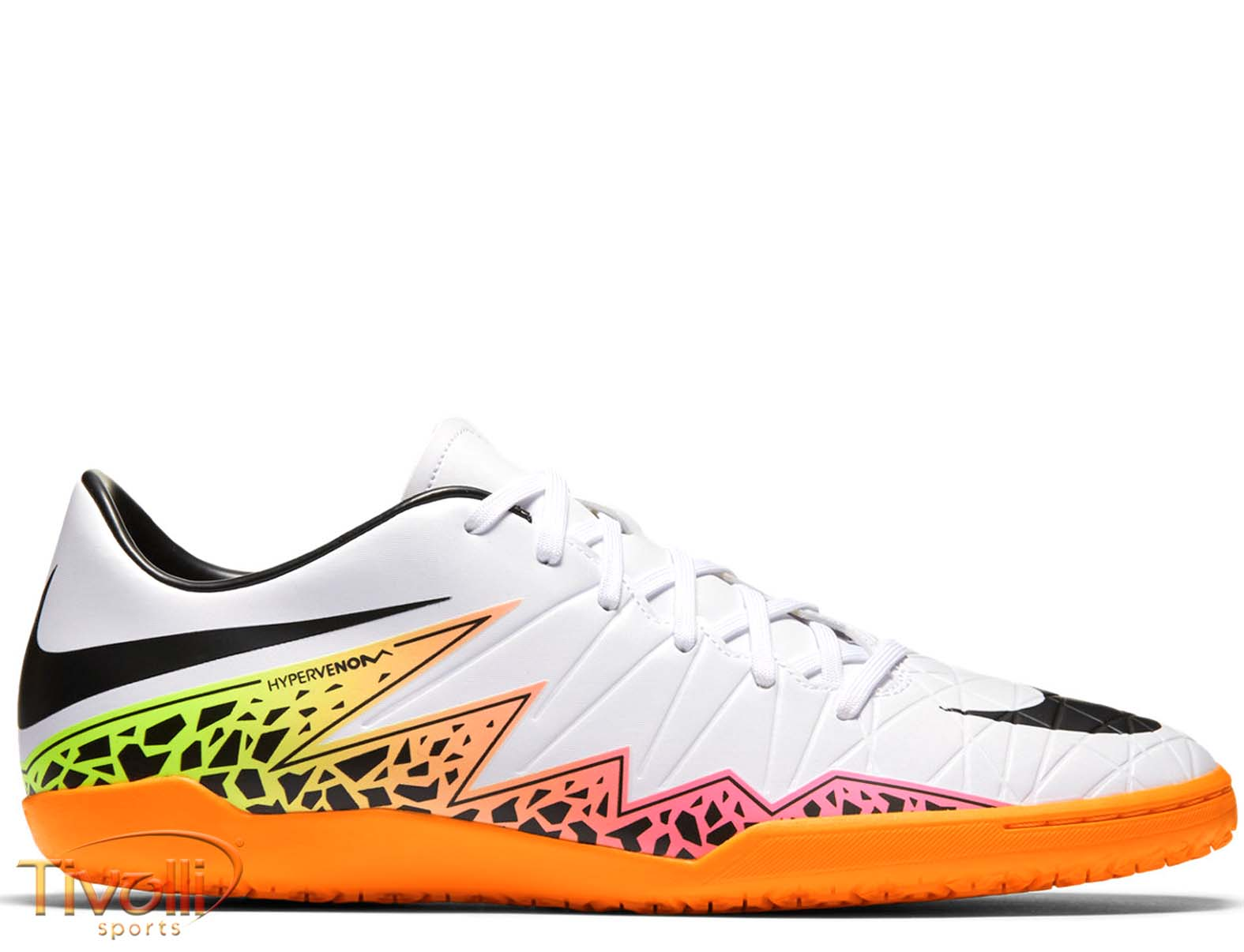 Chuteira Nike Hypervenom Phelon II IC Futsal Infantil   Branca   d7bce2884be98