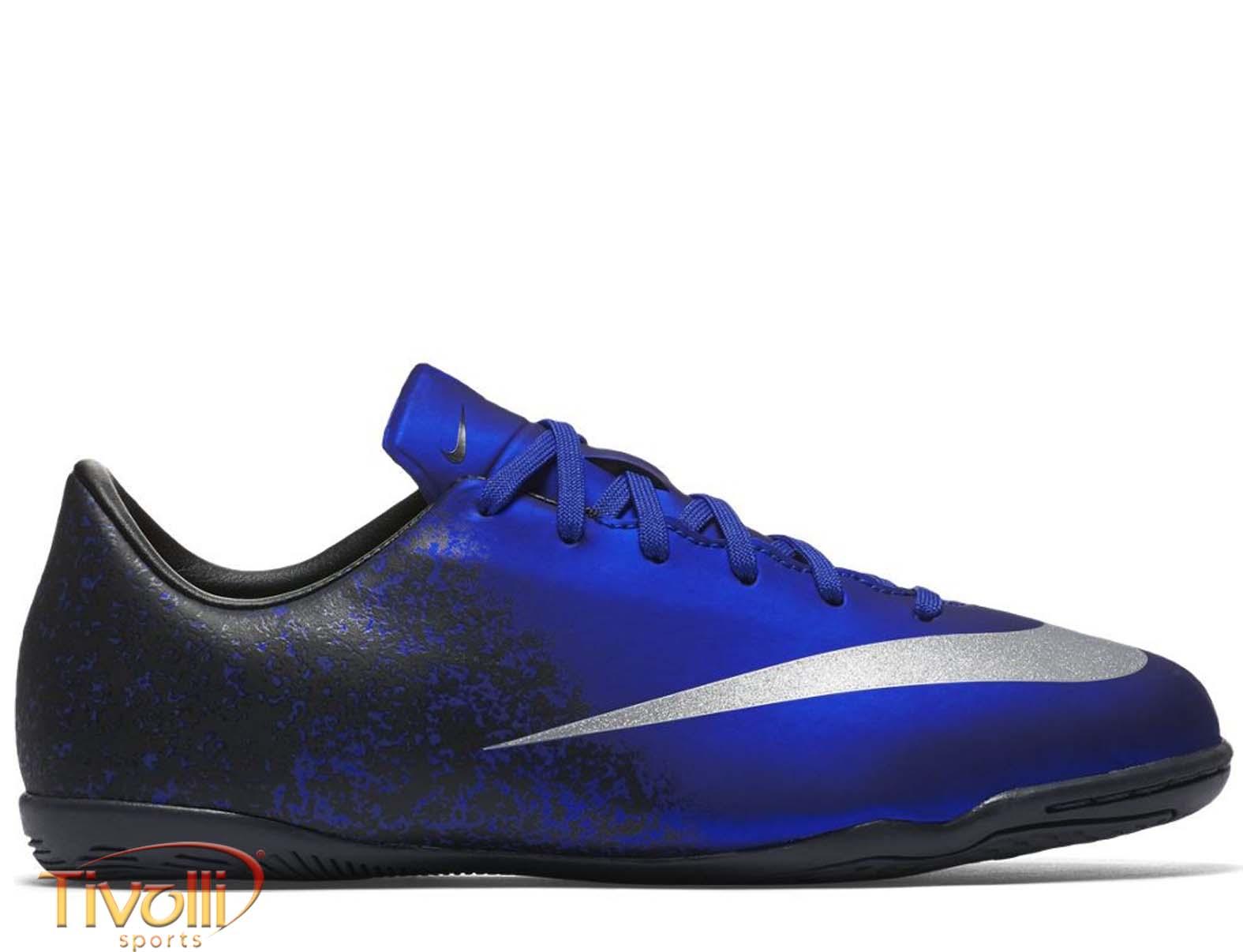 7b7ac1f4dcd0a Black Friday - Chuteira Nike Mercurial Victory V IC CR7 Futsal Azul