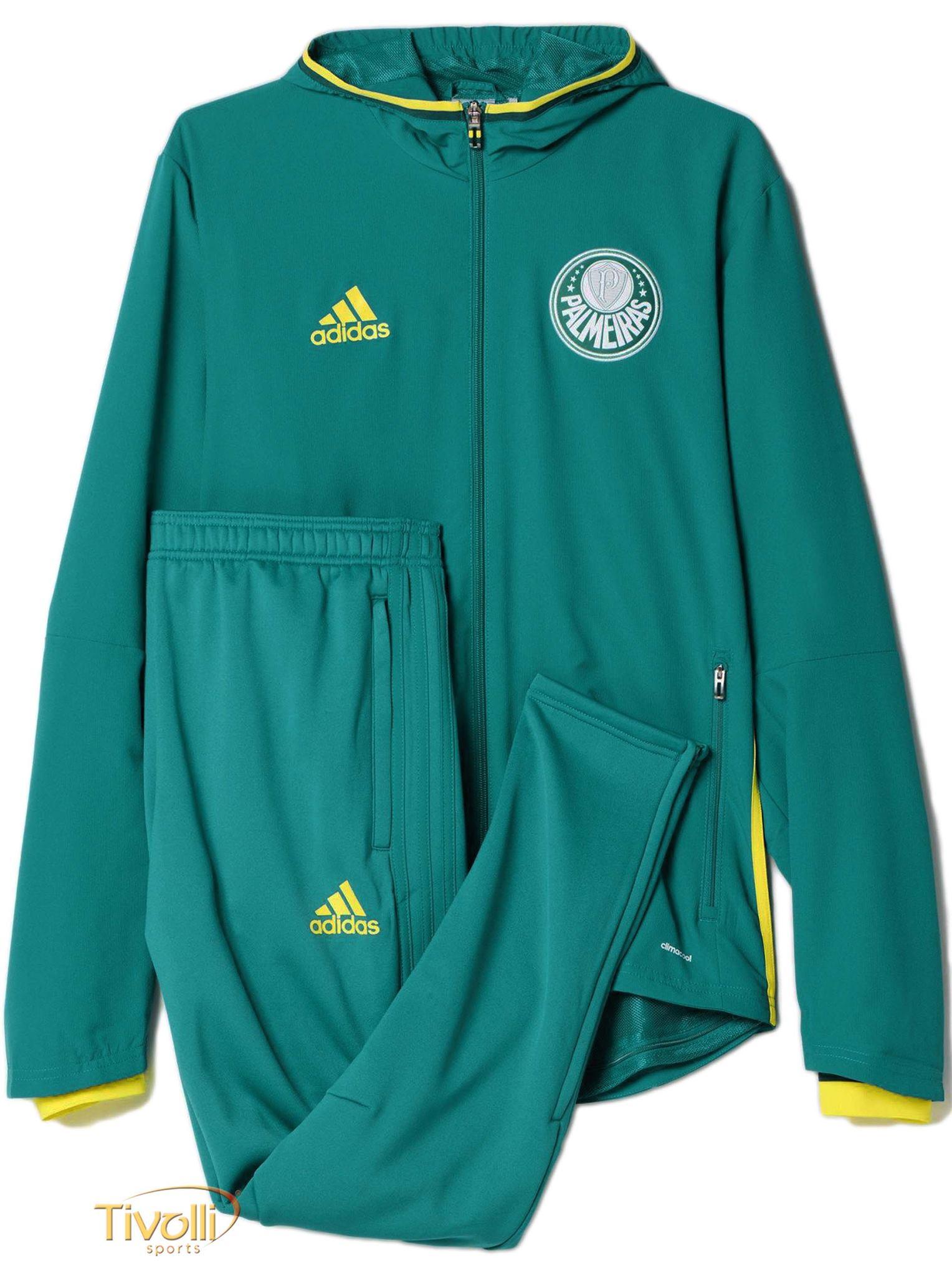 b46d0222b23 Agasalho Adidas Palmeiras Viagem   Verde