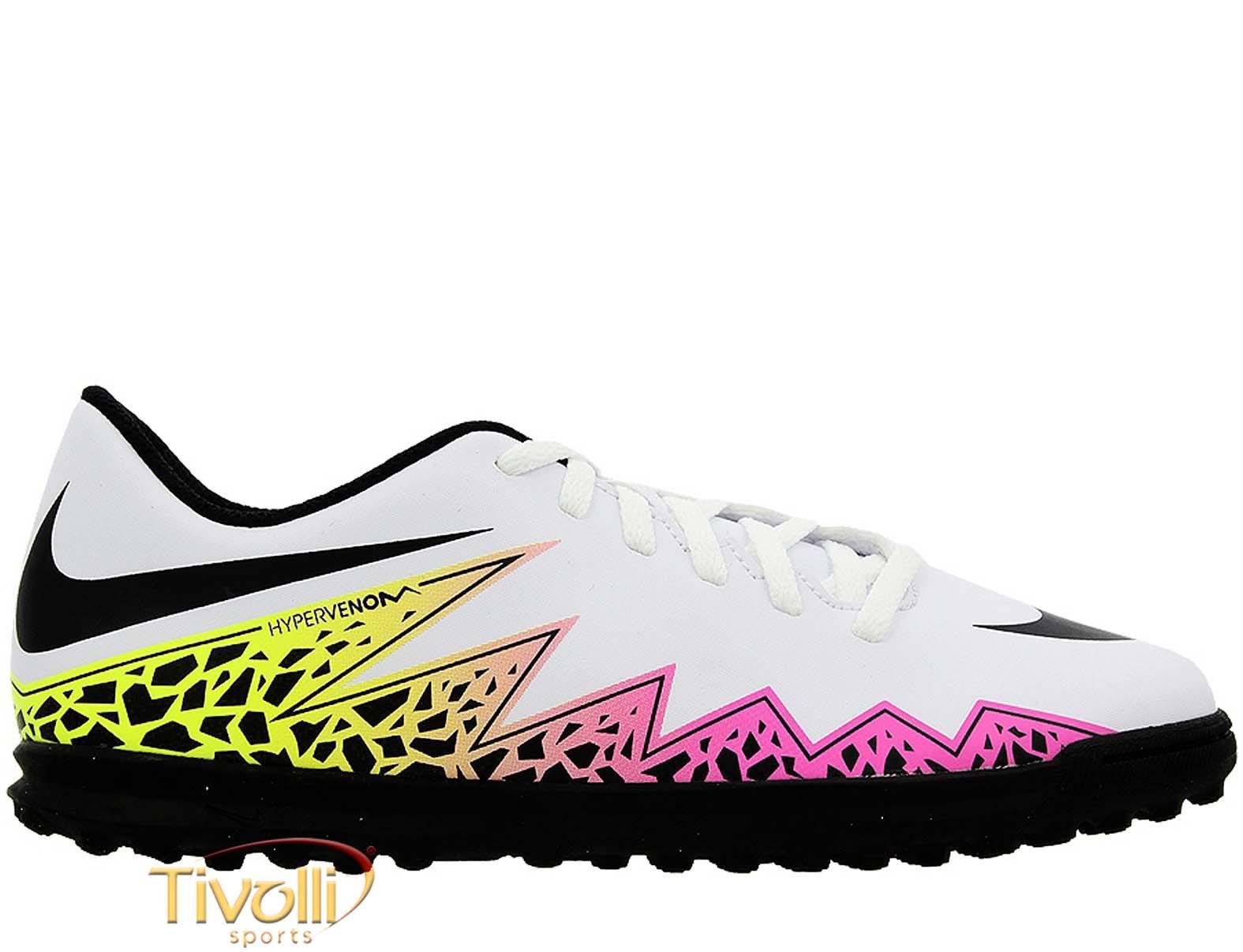Chuteira Nike Hypervenom Phade II TF Society   - Mega Saldão   47260ca455a89