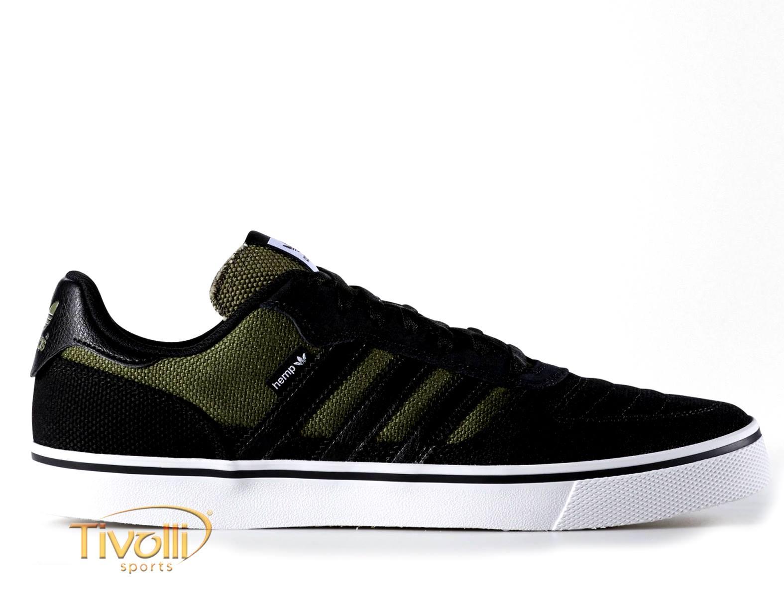 2e7d8a81ae6 Tênis Adidas Copa Vulc Hemp Shoes Masculino   Preto