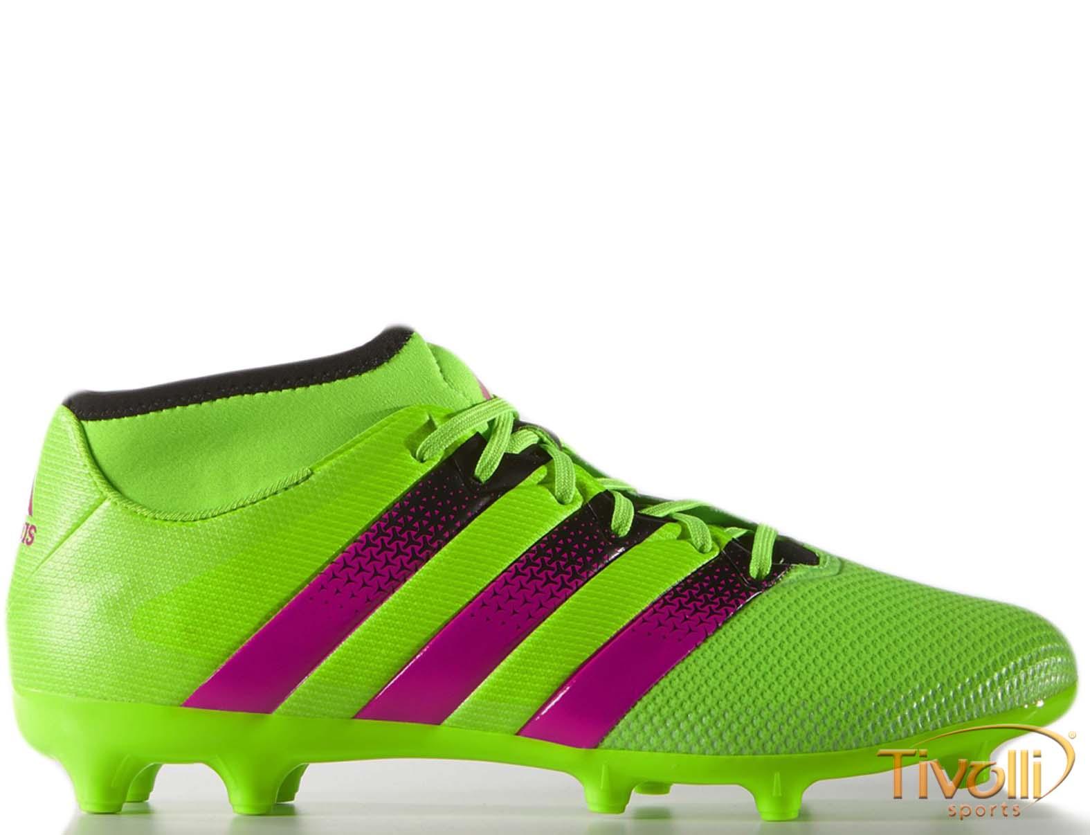 Chuteira Adidas Ace 16.3 Primemesh FG AG Futebol de Campo - Mega Saldão c82ae720f463c