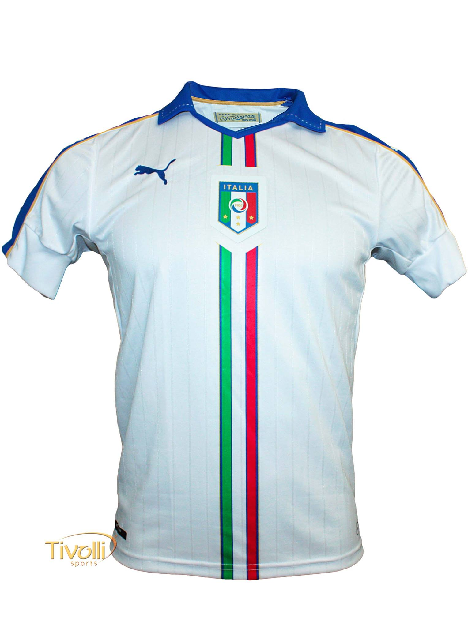 Camisa Itália II FIGC Away Euro 2016 Puma     48b13f92353ea
