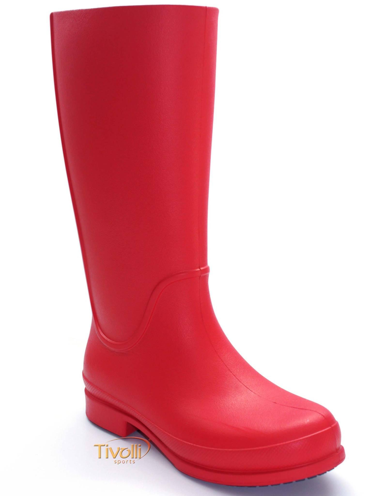 4b196b409a3 Galocha Crocs Wellie Rain Boot   bota feminina rosa