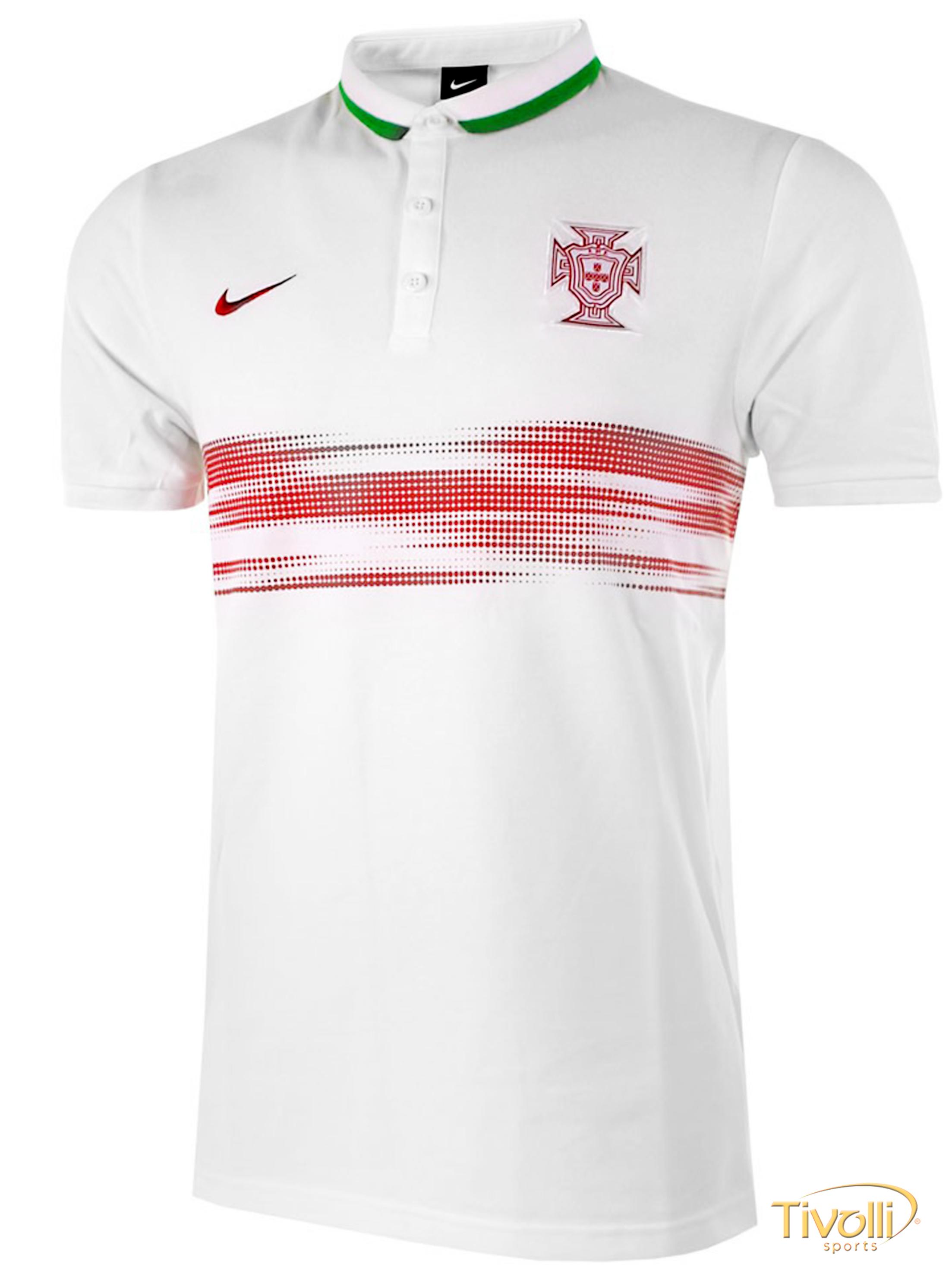 Camisa Polo Portugal Nike 2015 16   - Mega Saldão   5c18e53126ddc