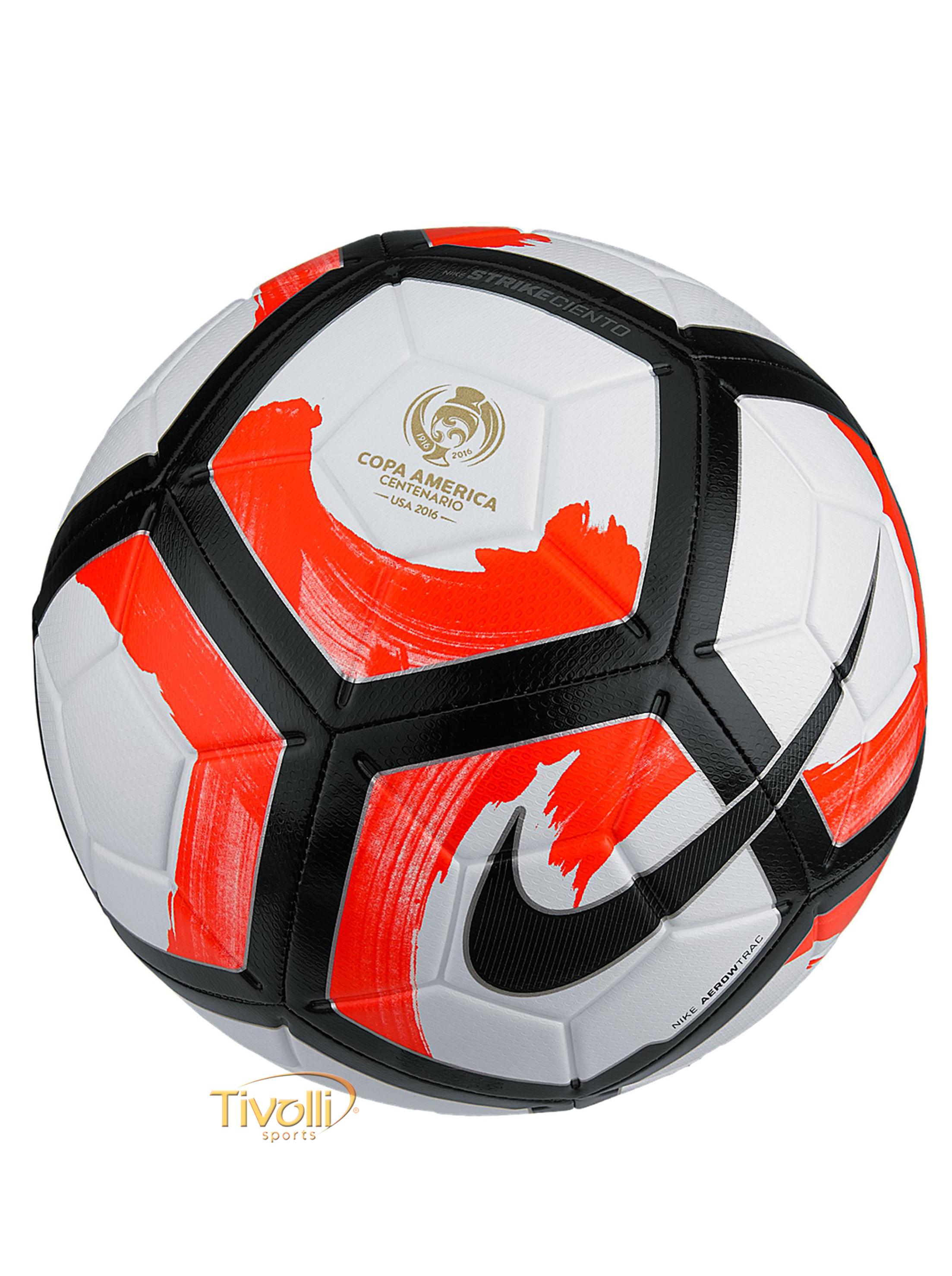 14bf3b8eb6 Bola Nike Futebol de Campo Strike Copa América Ciento Centenário Branca