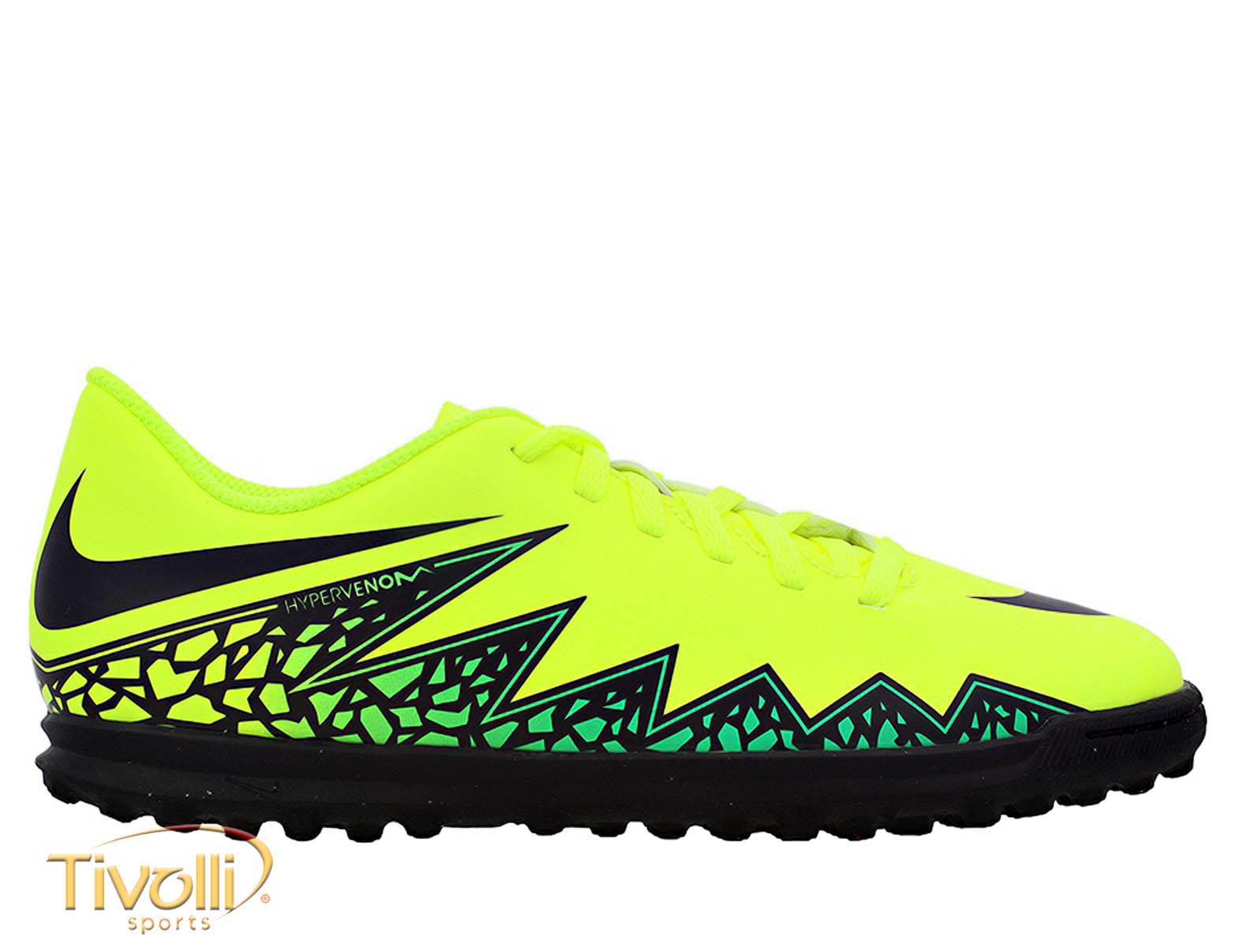 b2797ef42dfb3 Chuteira Nike Hypervenom Phade II Society Infantil > - Mega Saldão >
