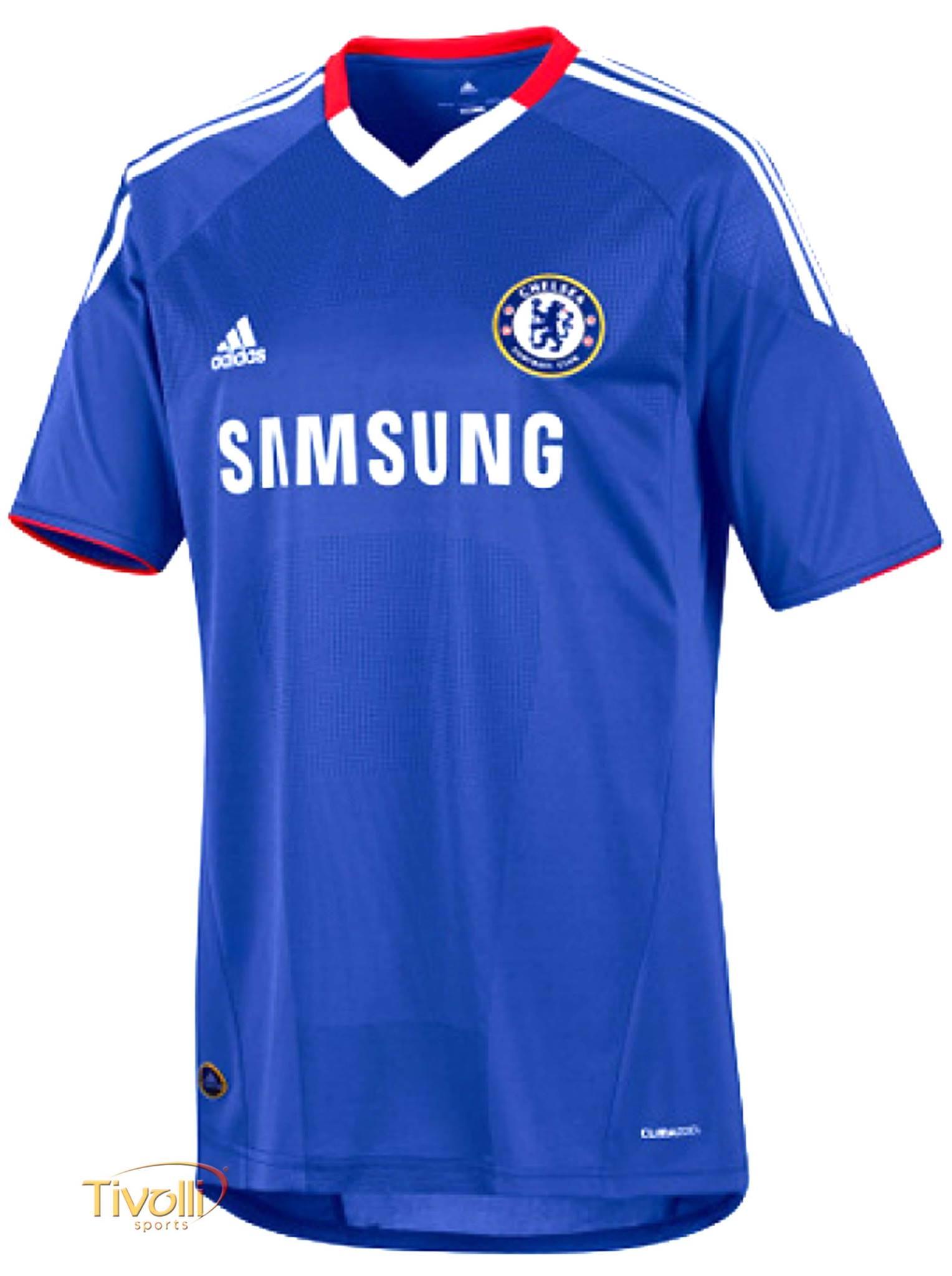 525475128e1f2 Black Friday - Camisa Chelsea I Home 2010/2011 Adidas Azul, Vermelha e  Branca