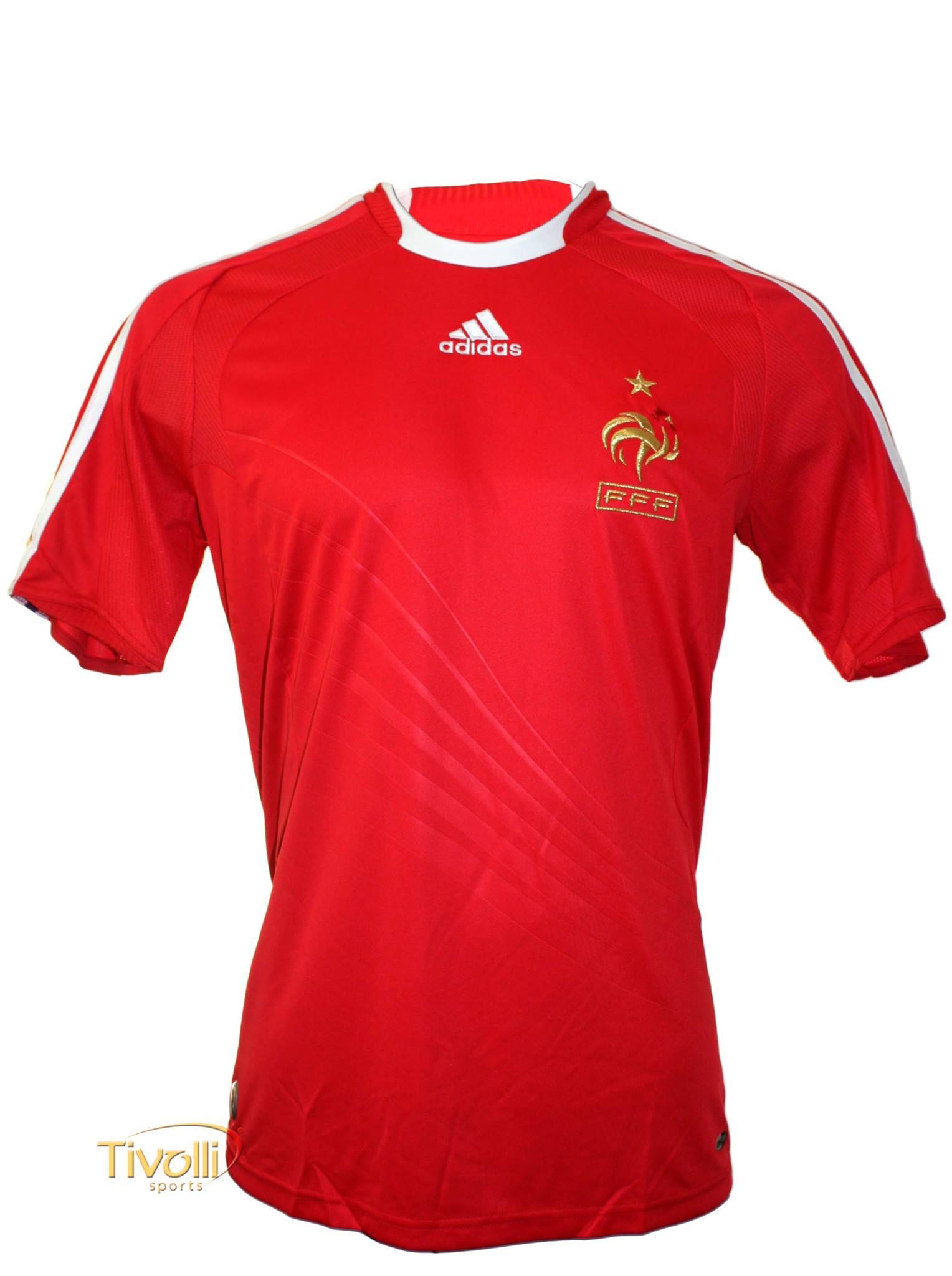 Camisa França II Away Adidas 2007 08   - Mega Saldão   061566af640bb