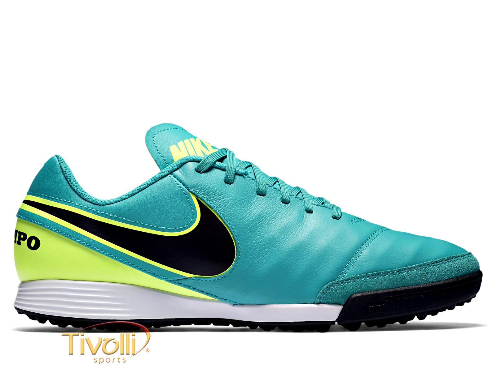 Chuteira Nike Tiempo Genio II Leather TF Society     80f5788082d9c