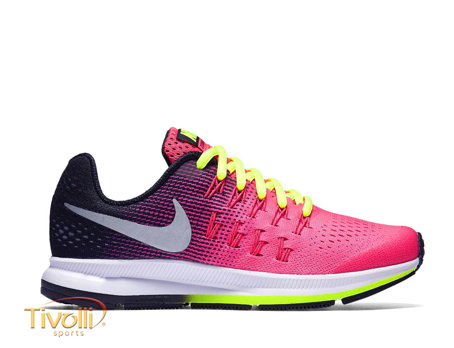 e2fa47e35c3 Tênis Nike Air Zoom Pegasus 33 Feminino   Rosa