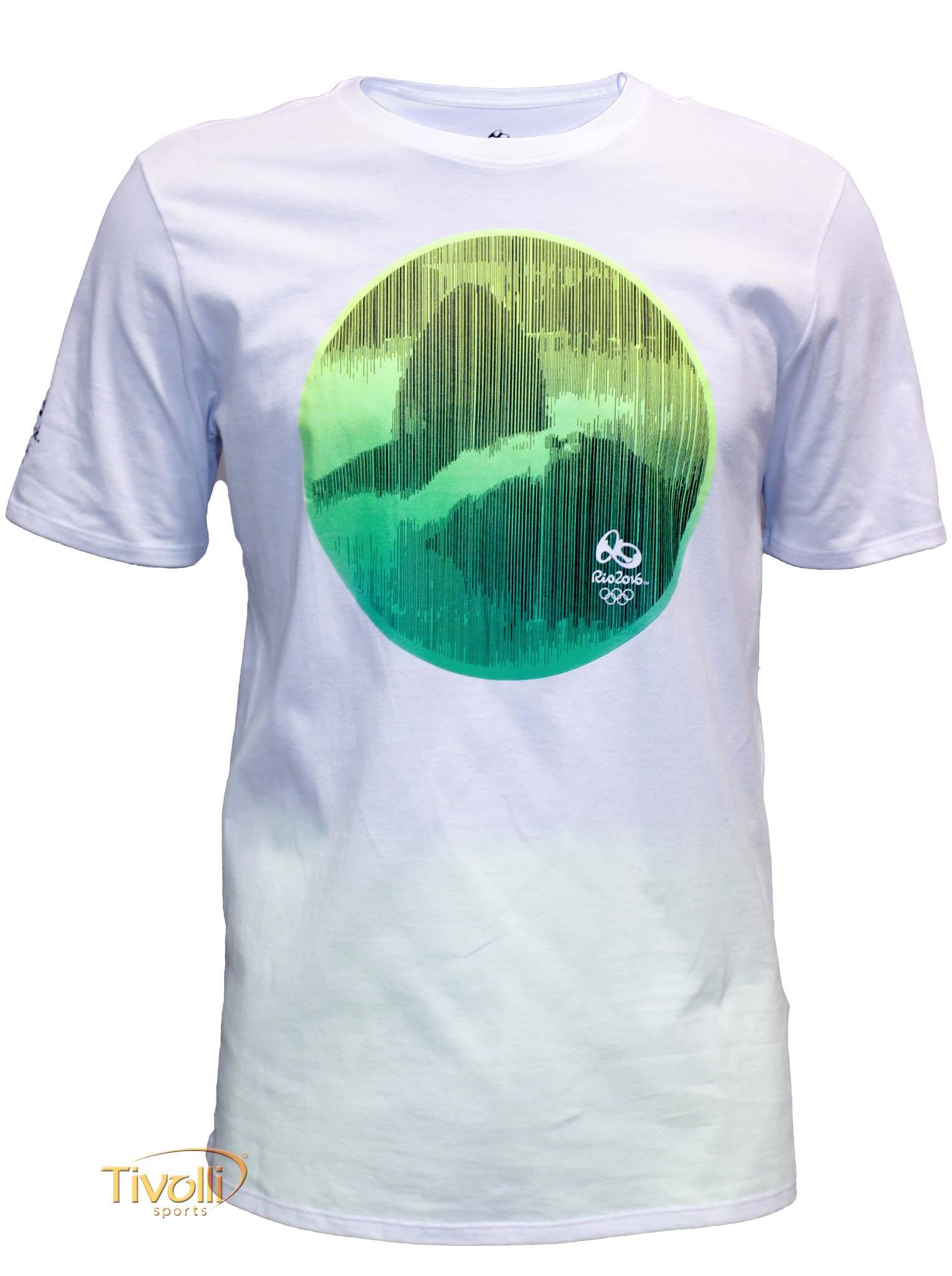 8e8ac4f6e7 Camiseta Nike Rio 2016 Sportswear   Branca