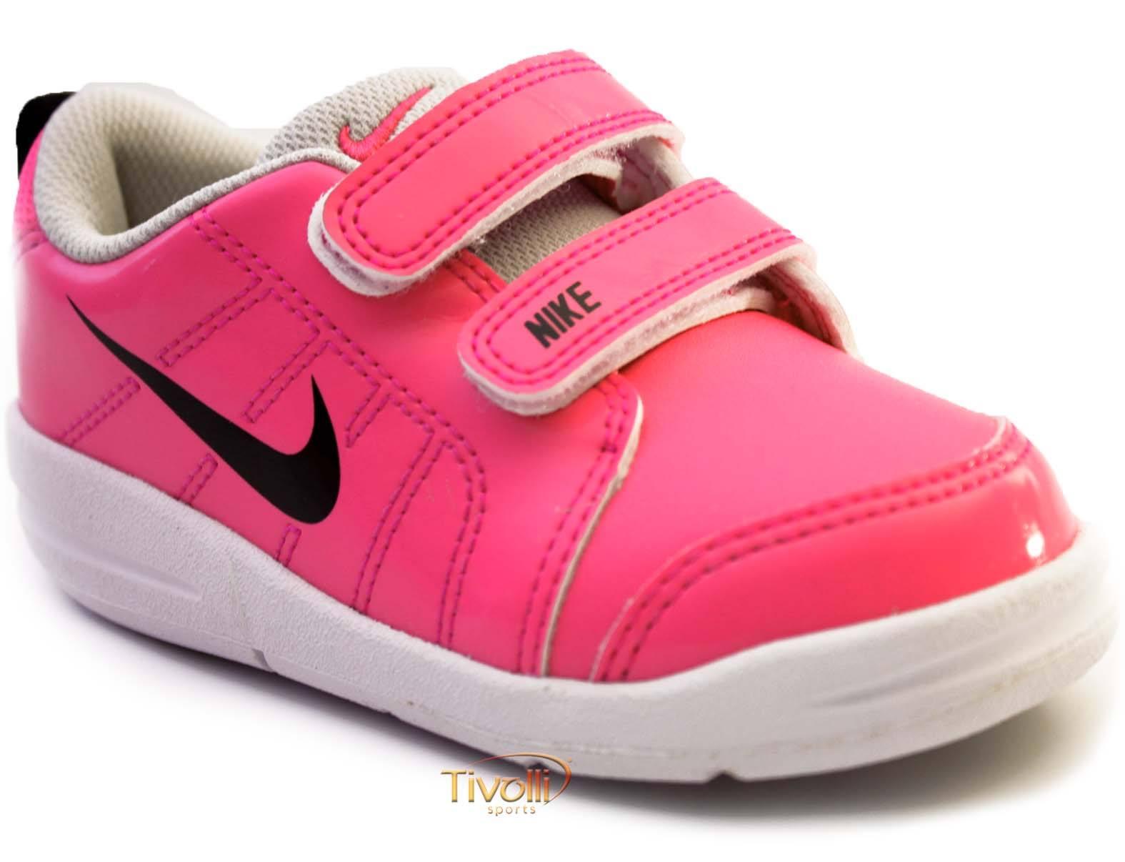 664a2a383e8 Tênis Nike Pico LT (TDV) Infantil   Rosa Pink e Branco