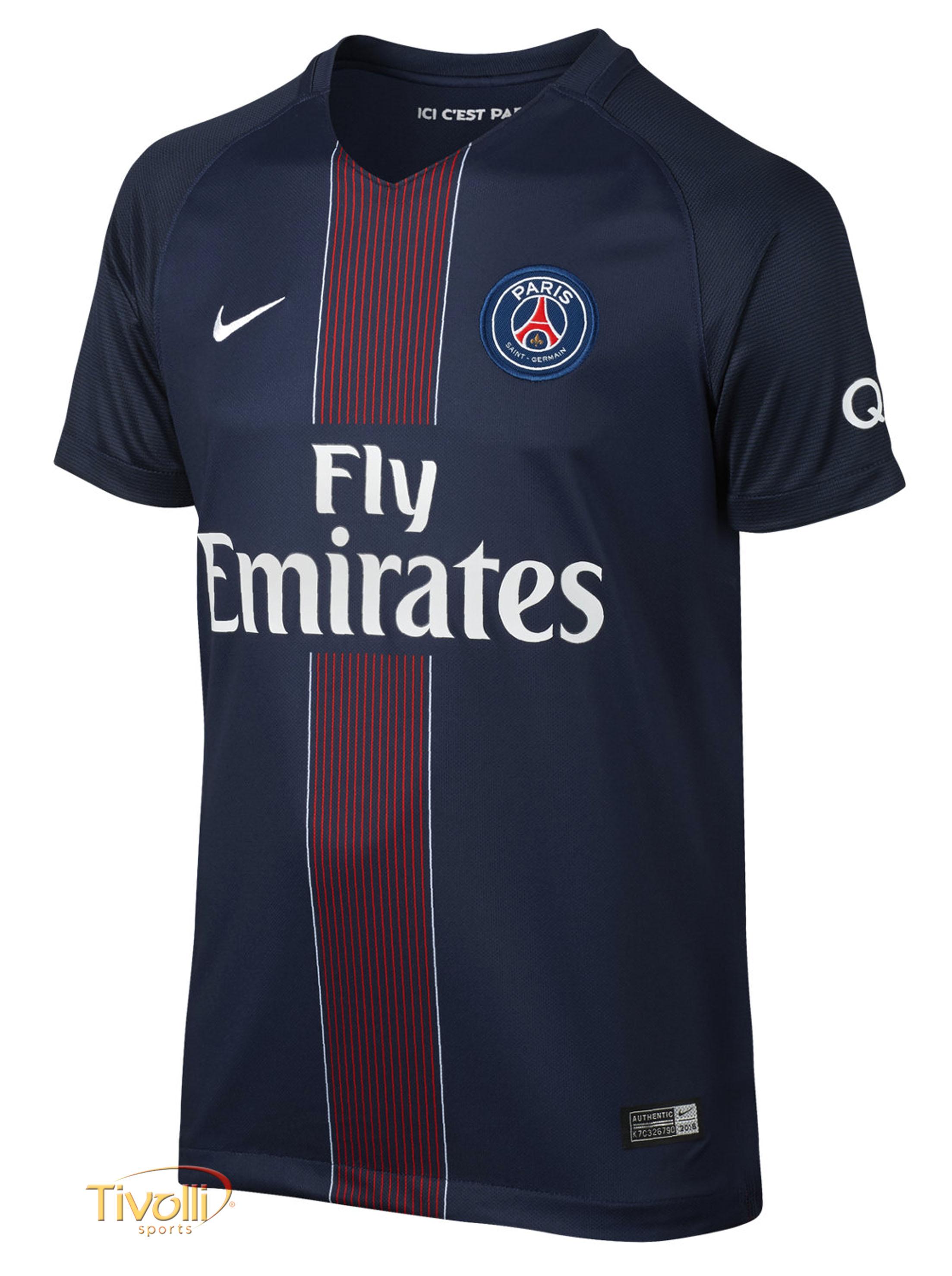 87850338f2ac6 Camisa Paris Saint Germain PSG I Home 2016 2017 Nike   - Mega Saldão