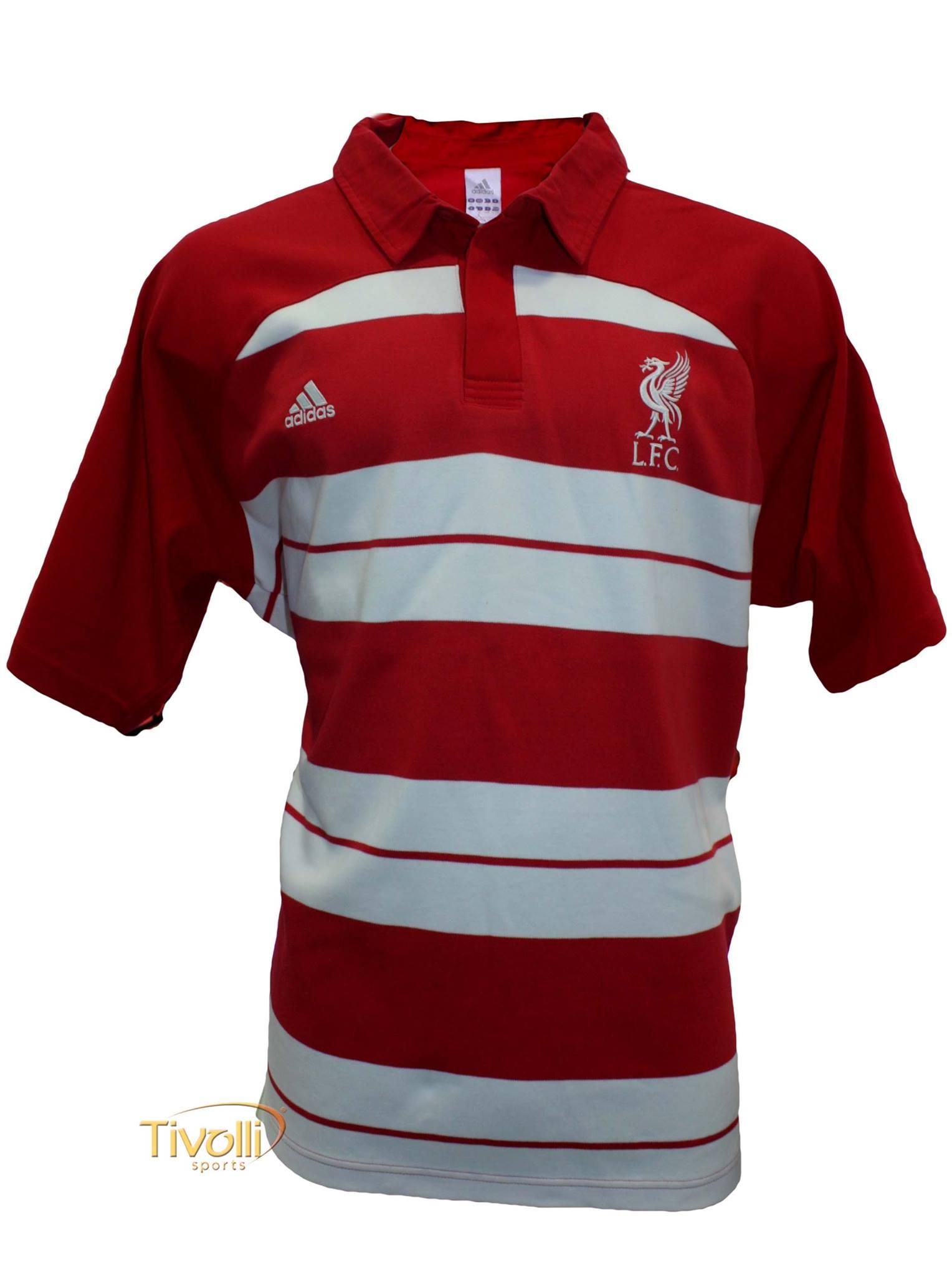 Black Friday - Camisa Polo Viagem Liverpool Adidas Masculina Vermelha e  Branca ec156deb1cf1e