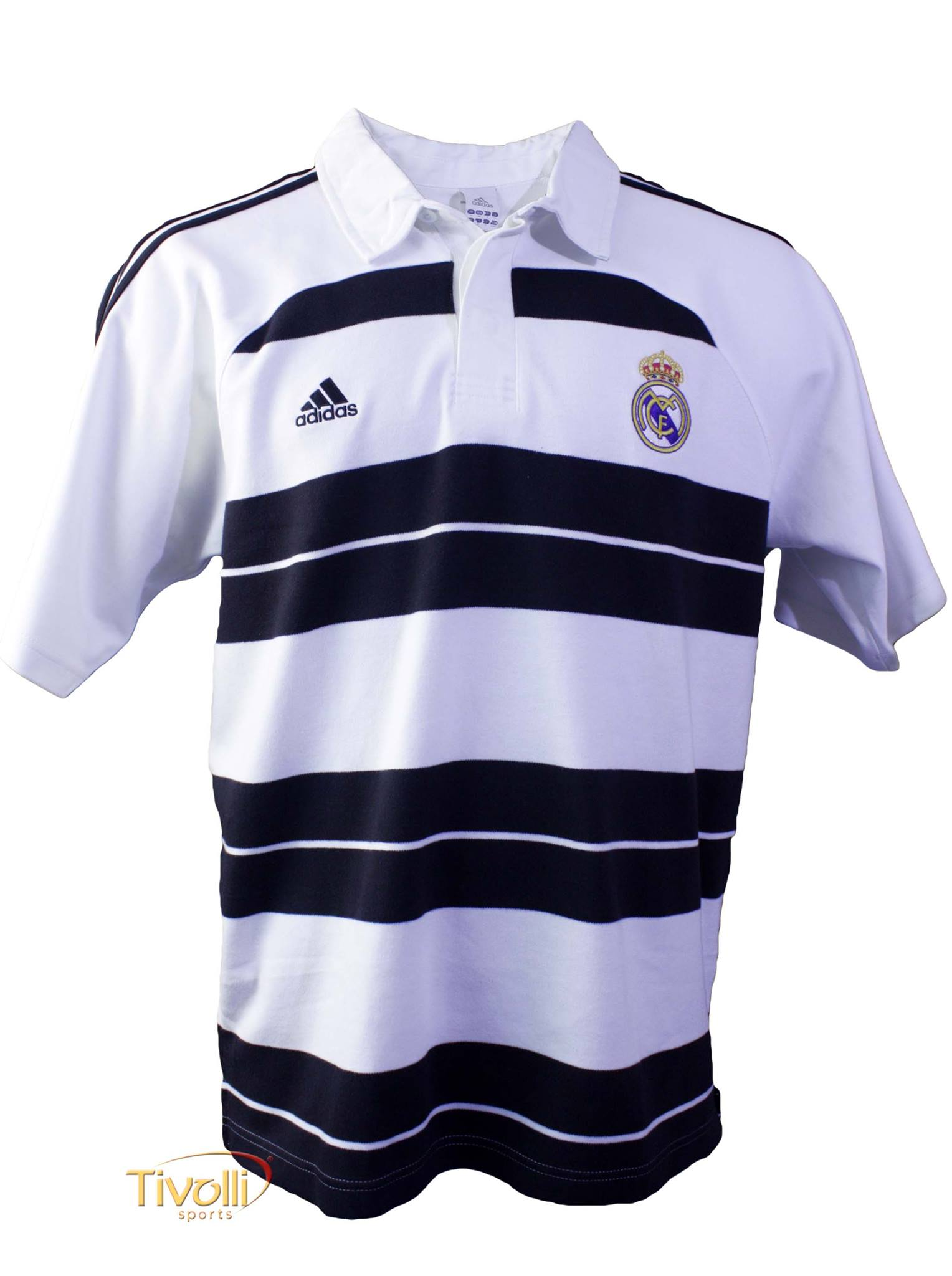 Terapia Monet escaldadura  Camisa Polo Real Madrid Adidas > - Mega Saldão >