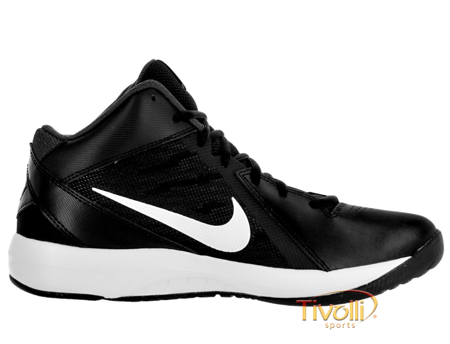 11ae1e4eb Tênis Nike The Air Overplay IX Basquete. Masculino Preto e Branco