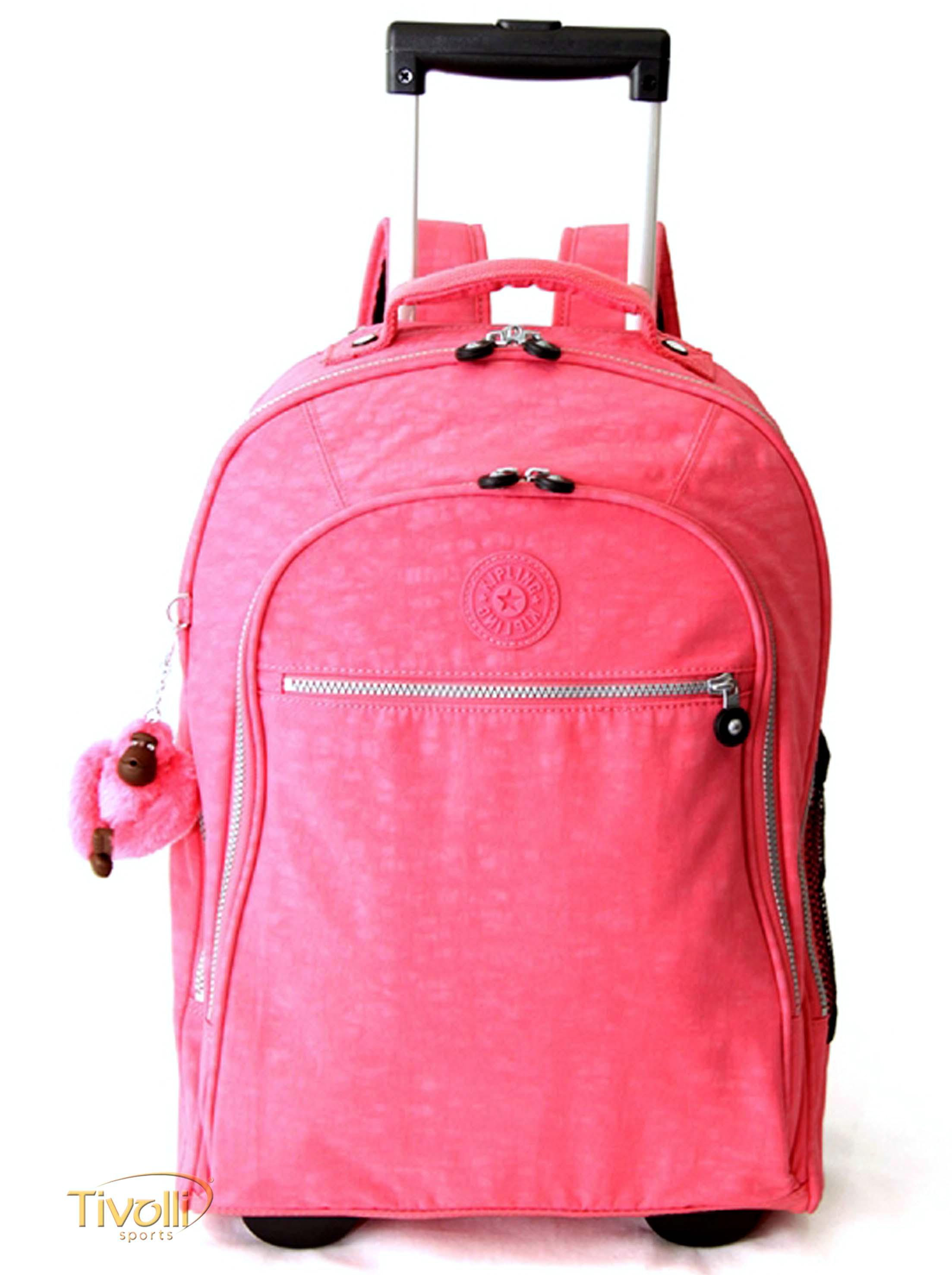 614df6302 Mochila Kipling Uttara com rodinhas > Pink >